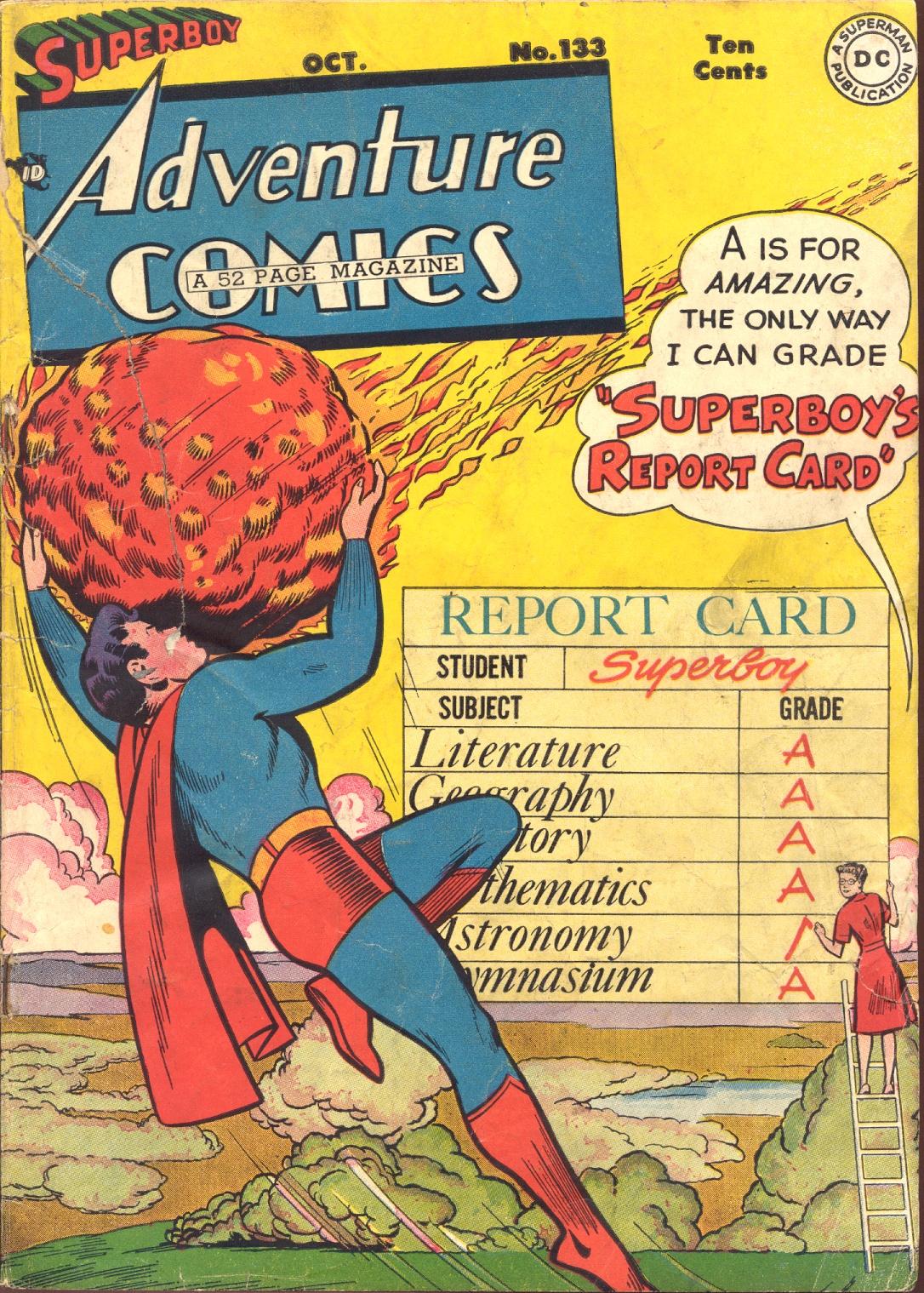 Read online Adventure Comics (1938) comic -  Issue #133 - 1