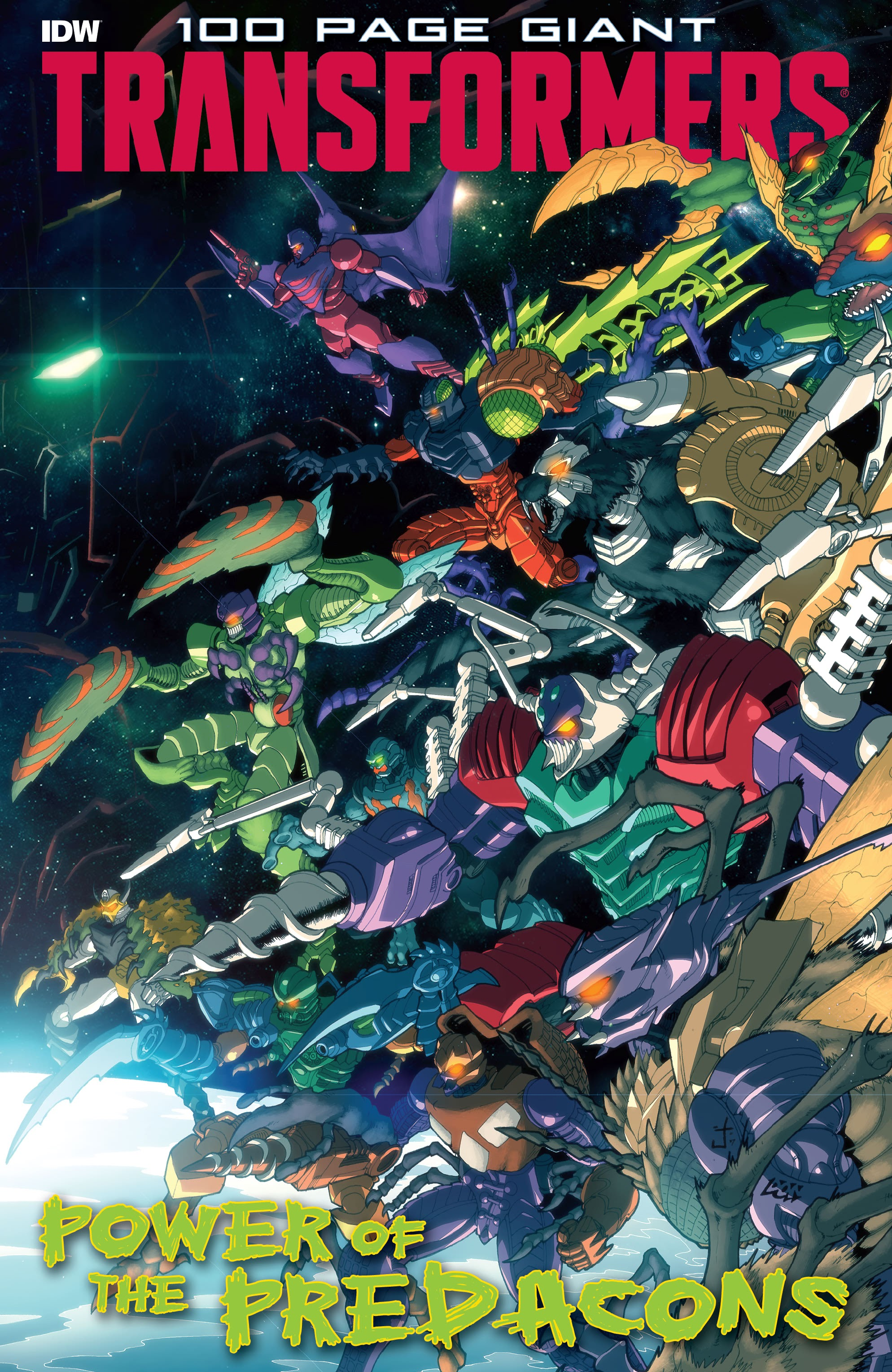 Transformers 100-Page Giant: Power of the Predacons TPB Page 1