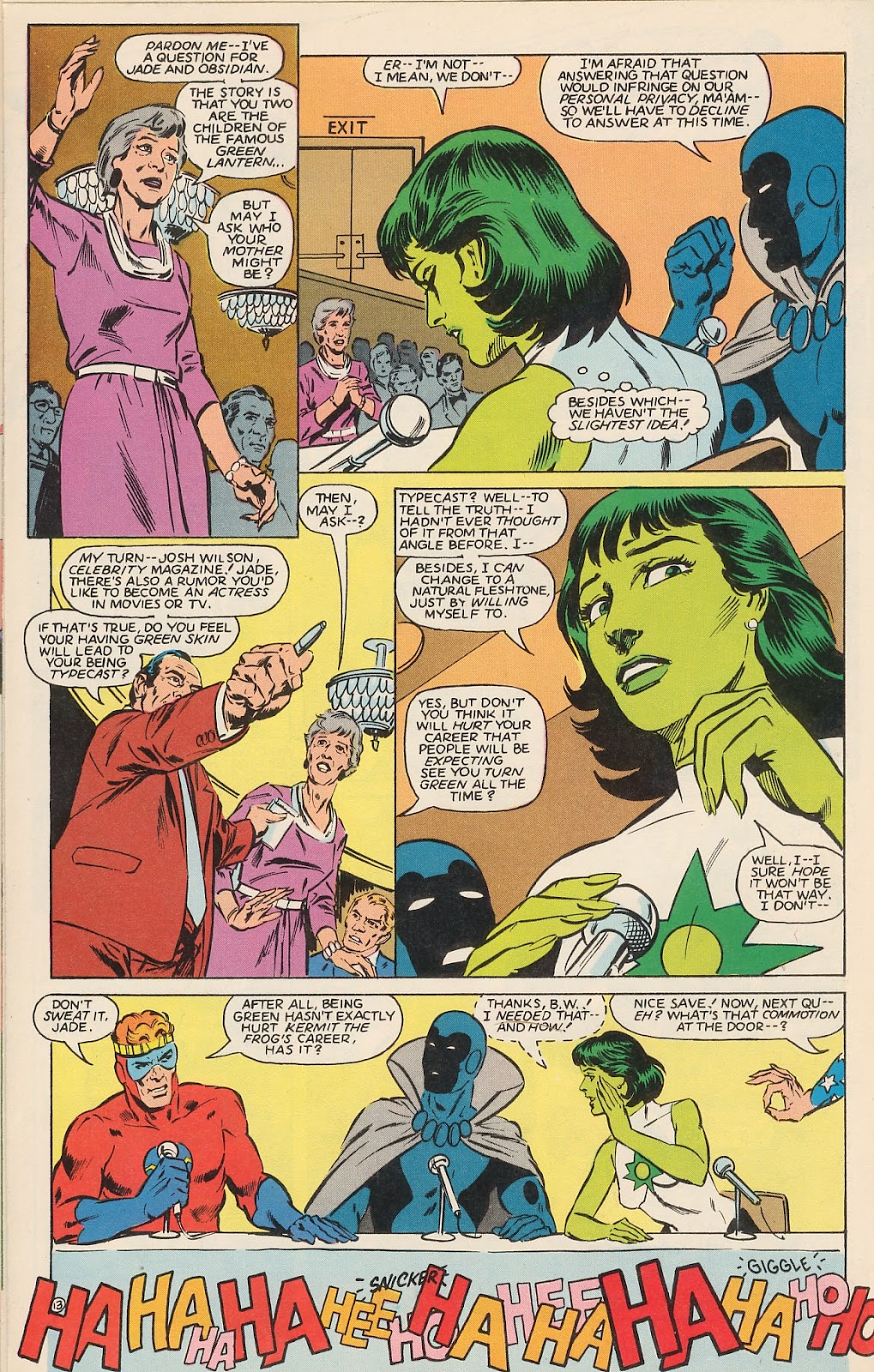 Infinity Inc. (1984) issue 12 - Page 17