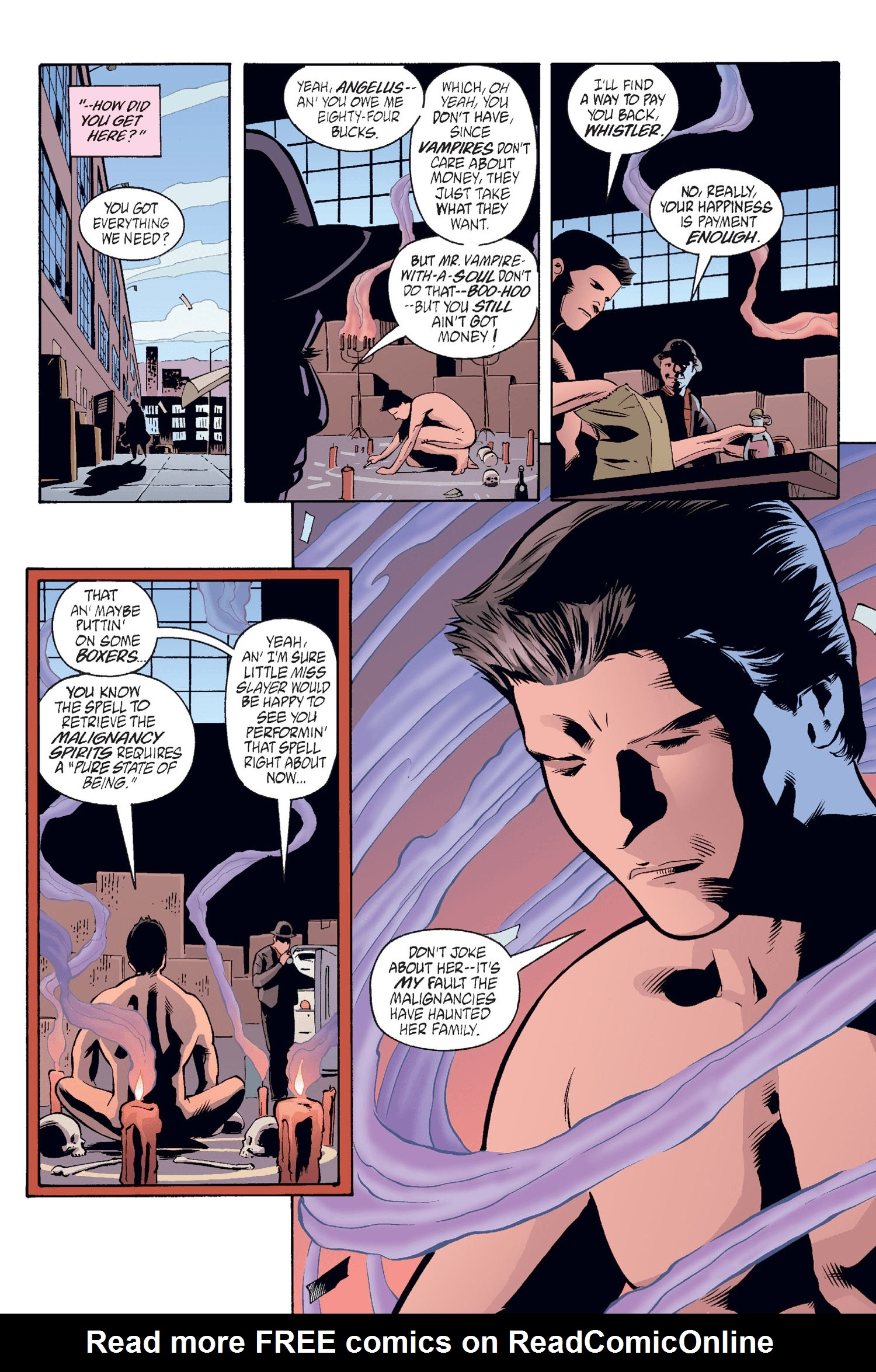 Read online Buffy the Vampire Slayer: Omnibus comic -  Issue # TPB 2 - 69