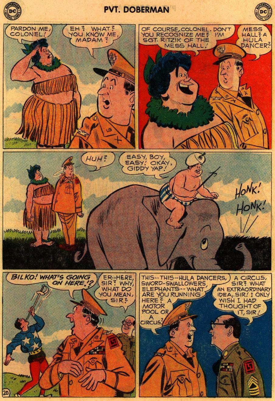 Sgt. Bilko's Pvt. Doberman issue 9 - Page 26