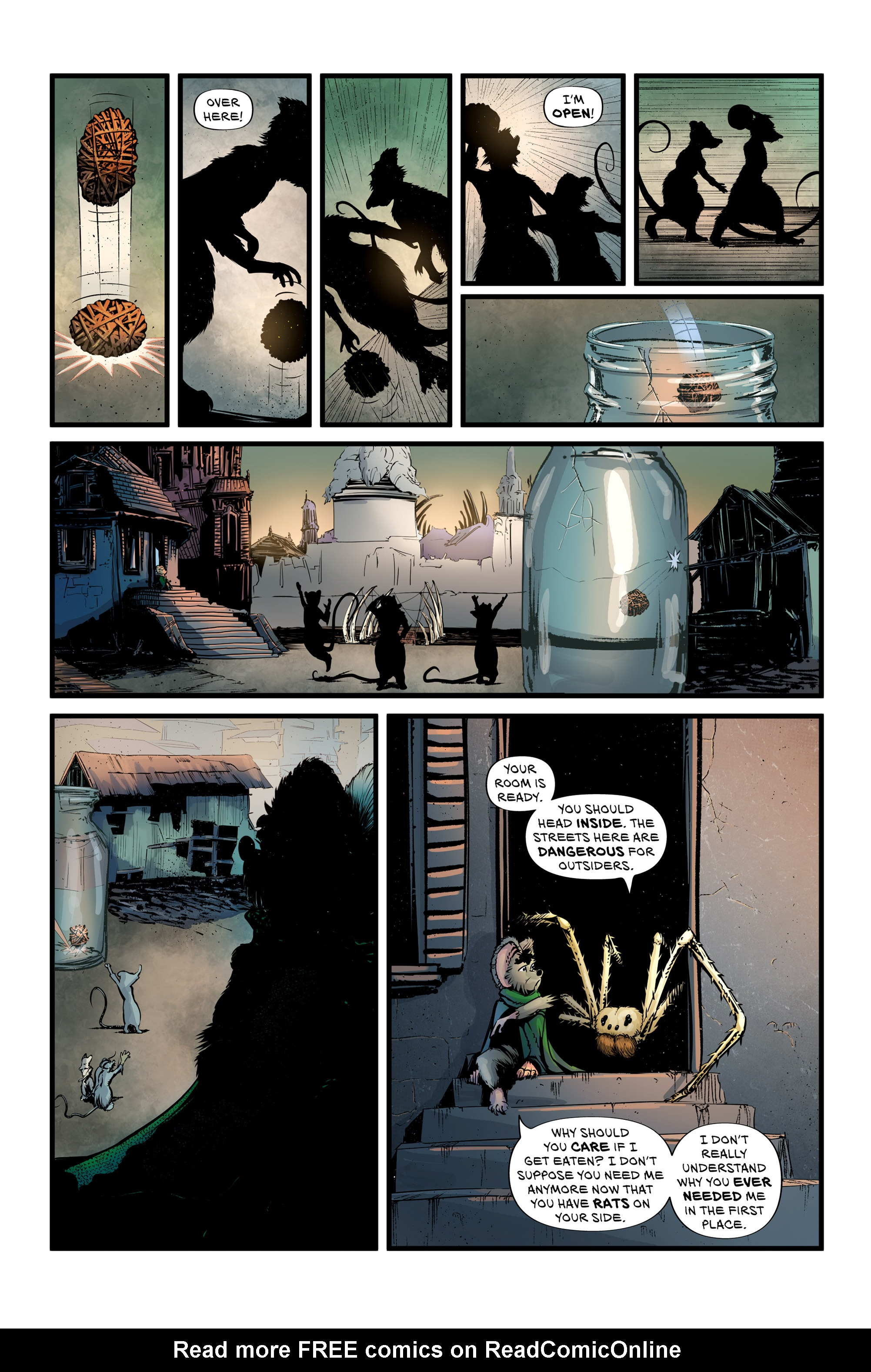 Read online Wretched Things comic -  Issue #3 - 12