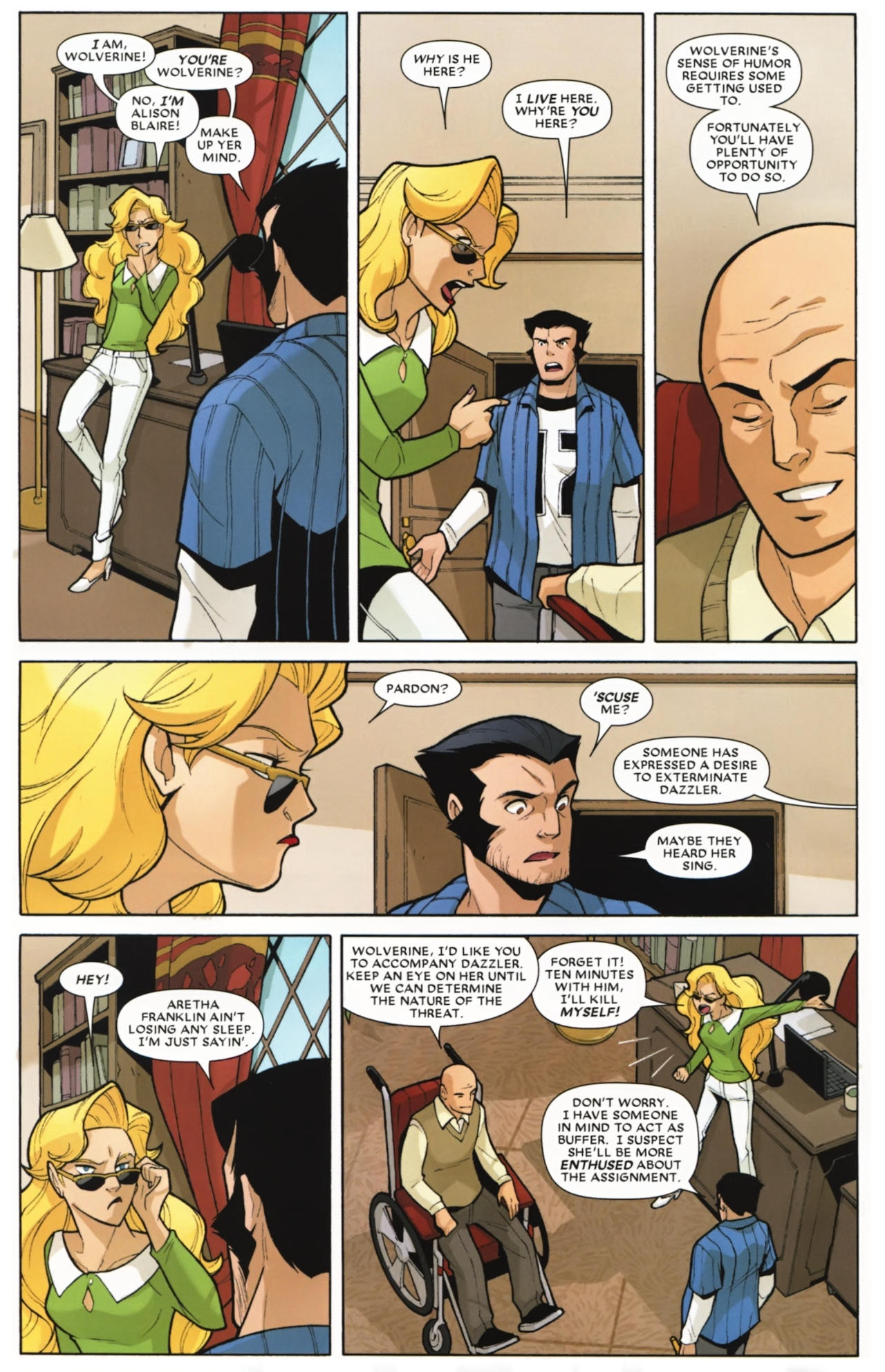 Read online Wolverine: First Class comic -  Issue #16 - 5
