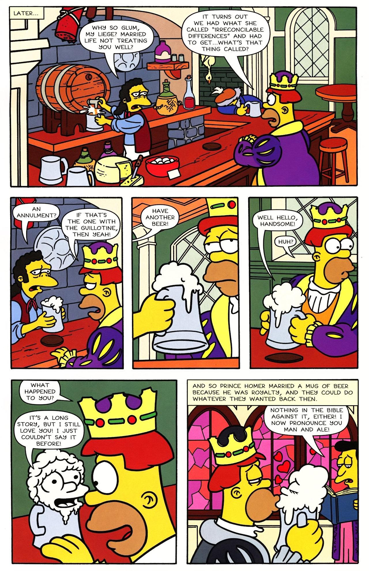 Read online Simpsons Comics comic -  Issue #148 - 10