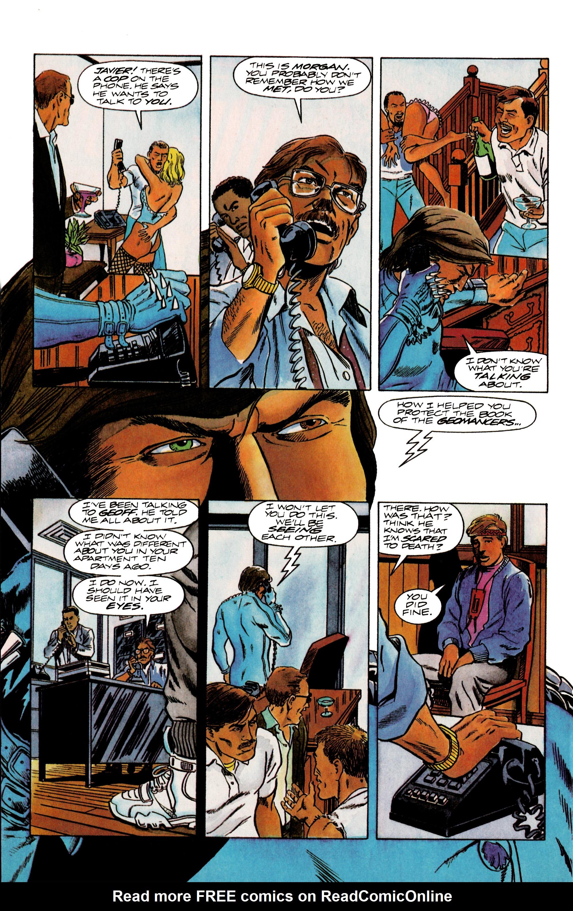 Read online Eternal Warrior (1992) comic -  Issue #13 - 20