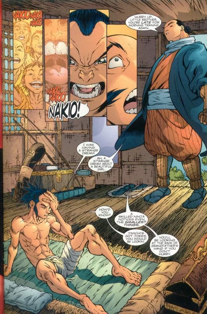 Read online Ninja Boy comic -  Issue #1 - 10