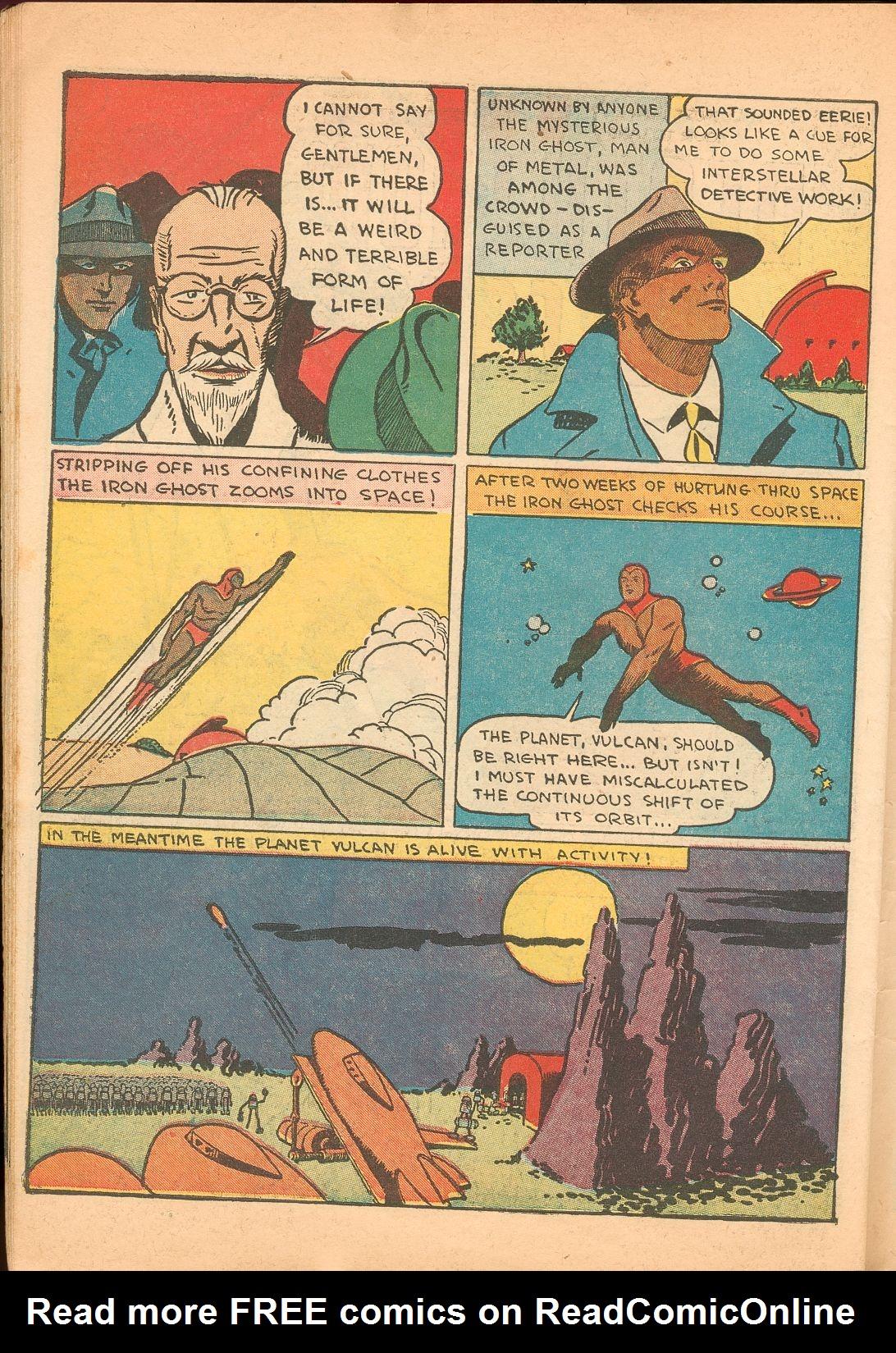 Read online Shadow Comics comic -  Issue #11 - 58