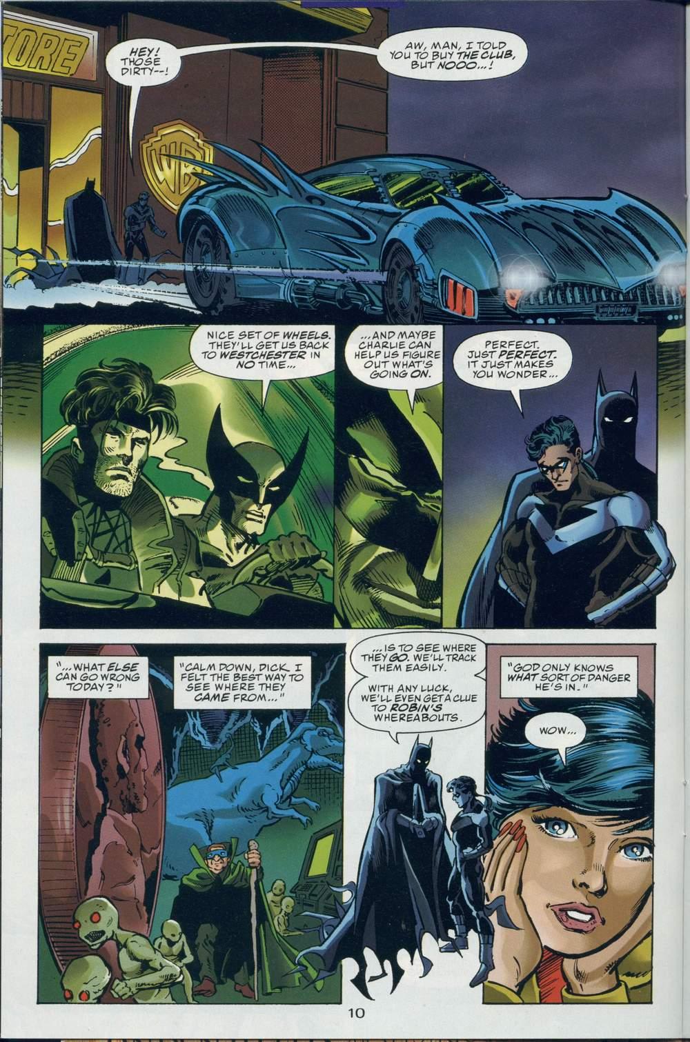 Read online DC Versus Marvel Comics comic -  Issue #2 - 12