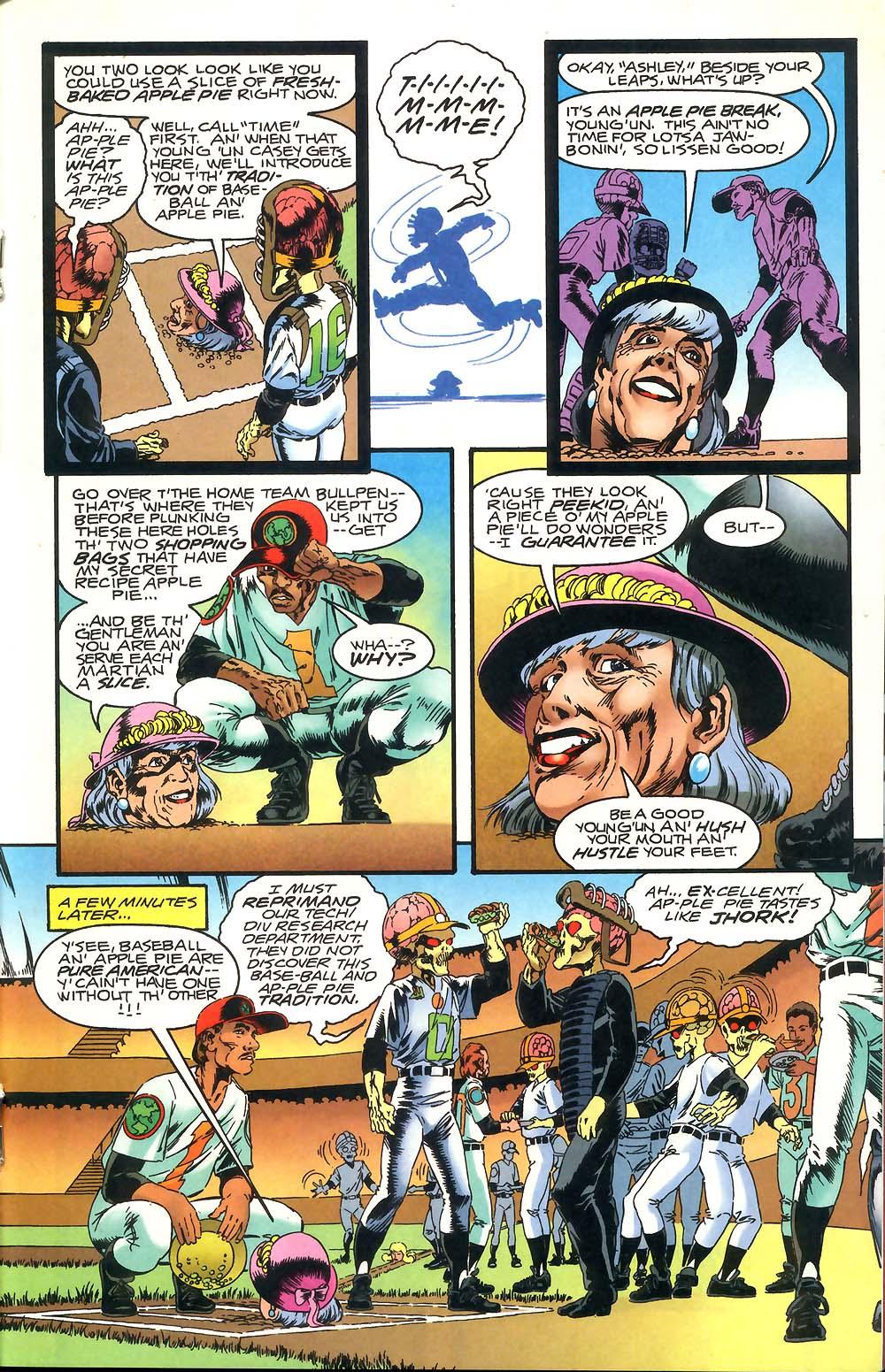 Read online Mars Attacks Baseball Special comic -  Issue # Full - 19