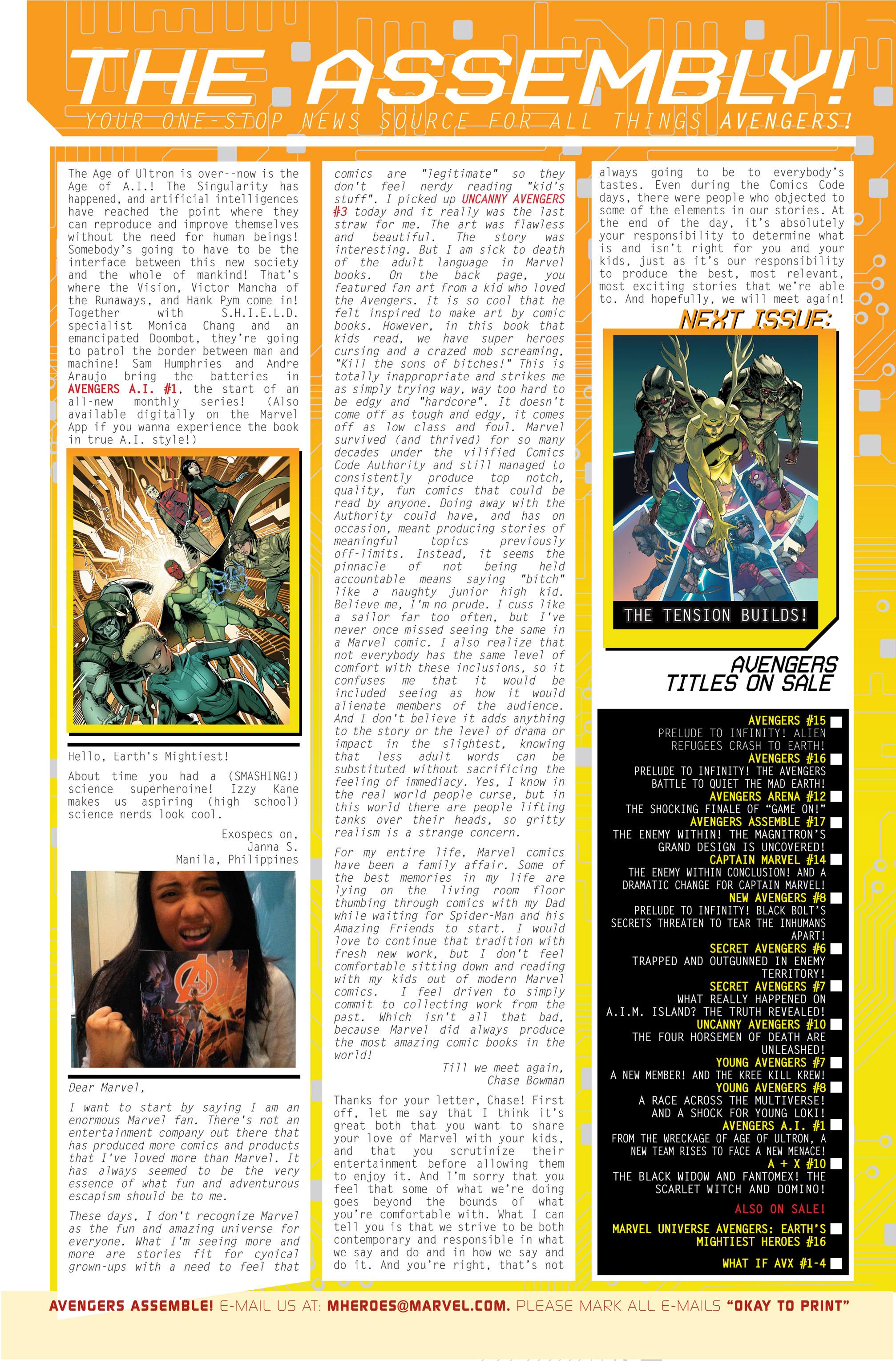 Read online Avengers (2013) comic -  Issue #Avengers (2013) _TPB 3 - 125