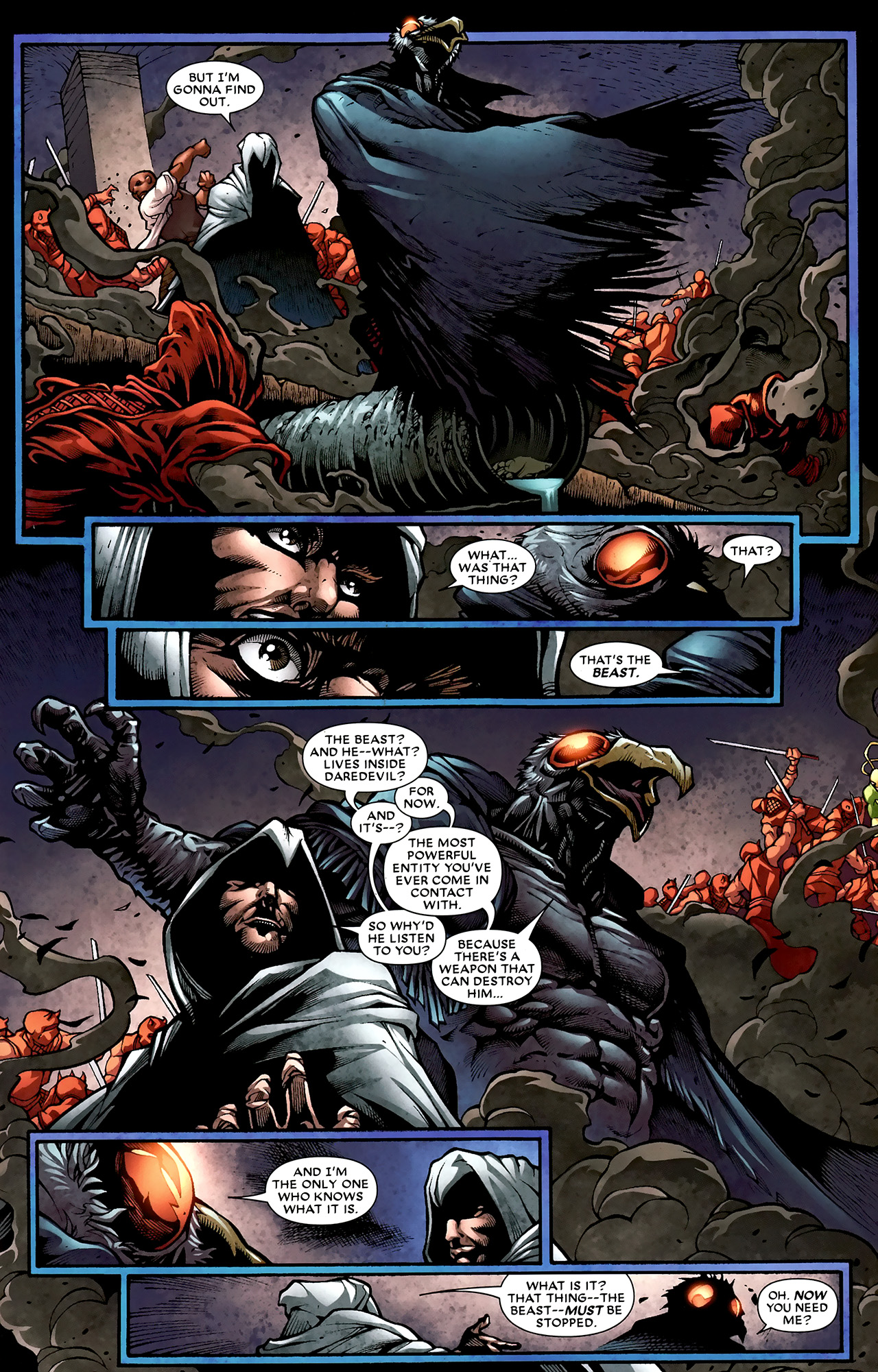 Read online Shadowland: Moon Knight comic -  Issue #2 - 11