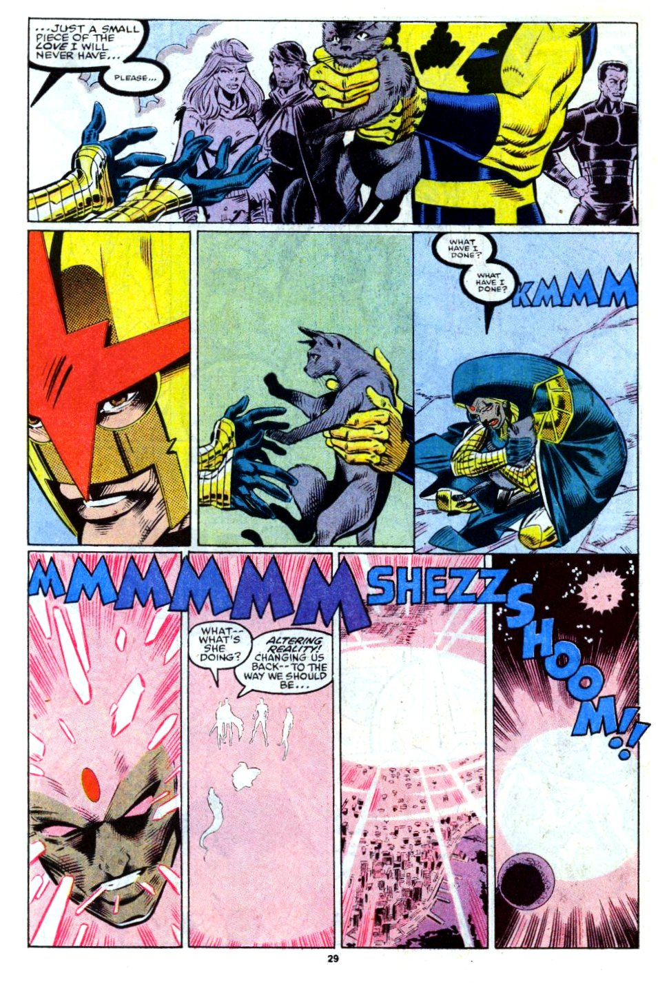 The New Warriors Issue #13 #17 - English 22