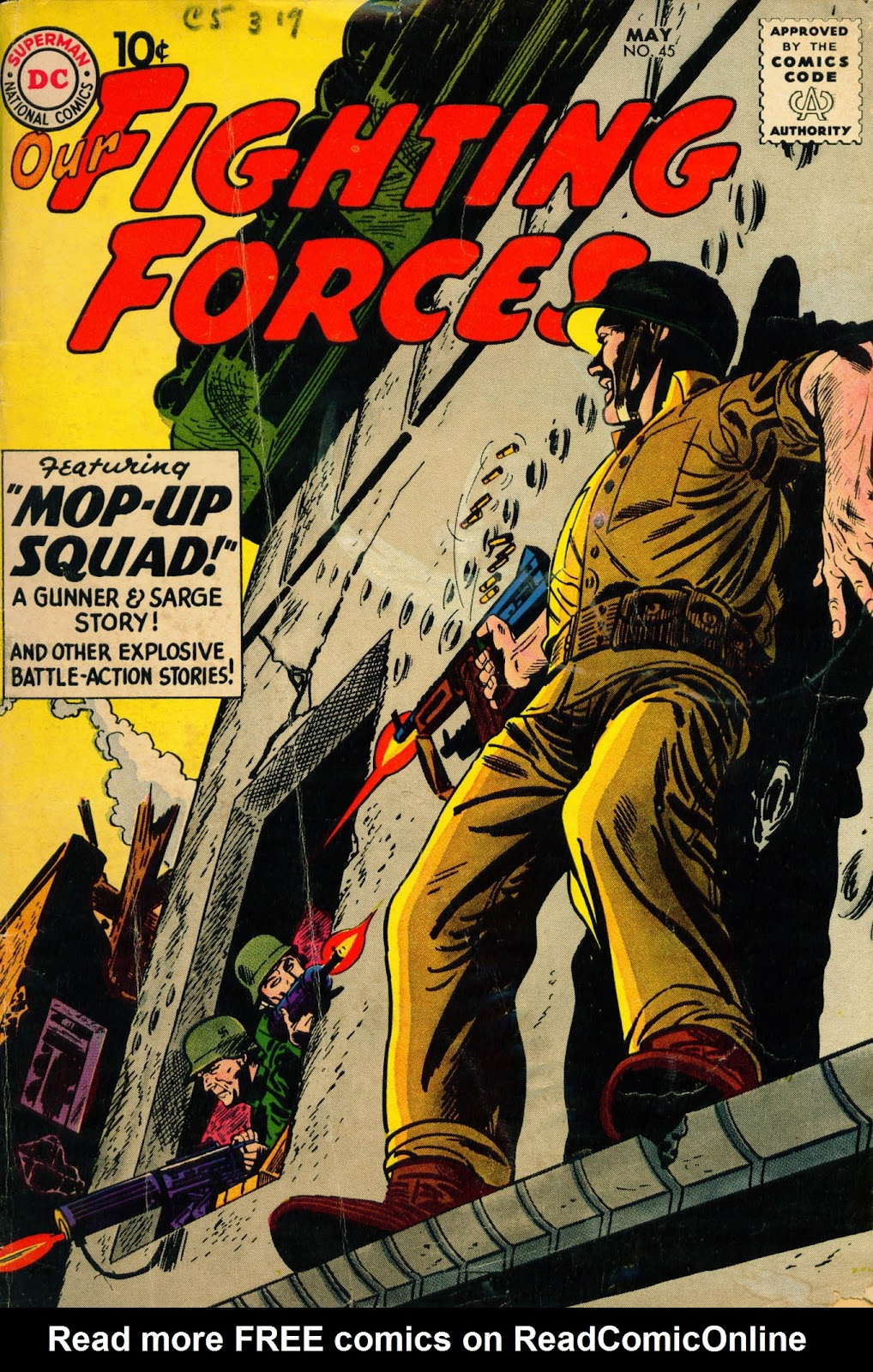 Our Fighting Forces (1954) issue 45 - Page 1