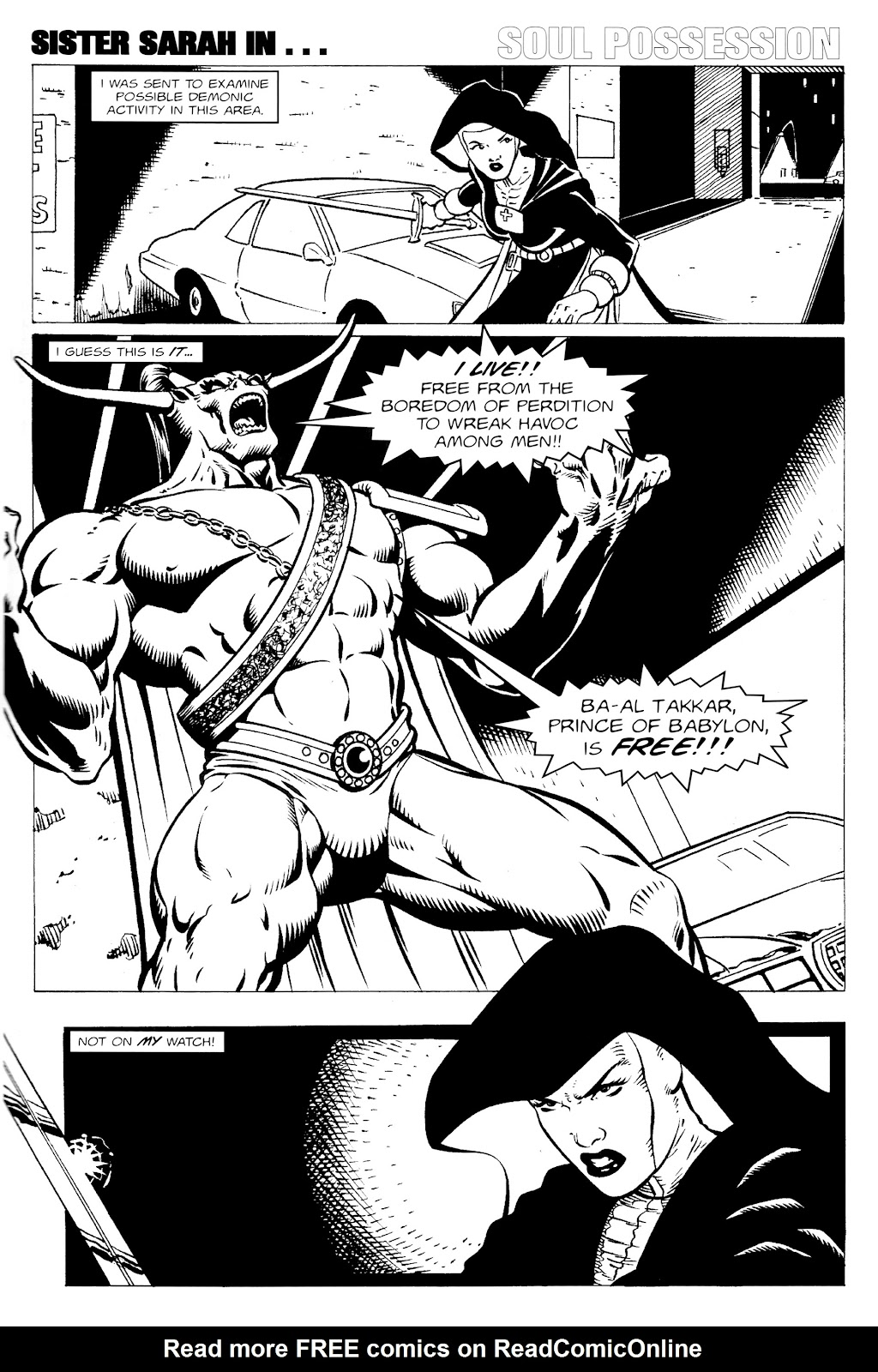Warrior Nun Areala:  Dangerous Game Issue #1 #1 - English 18