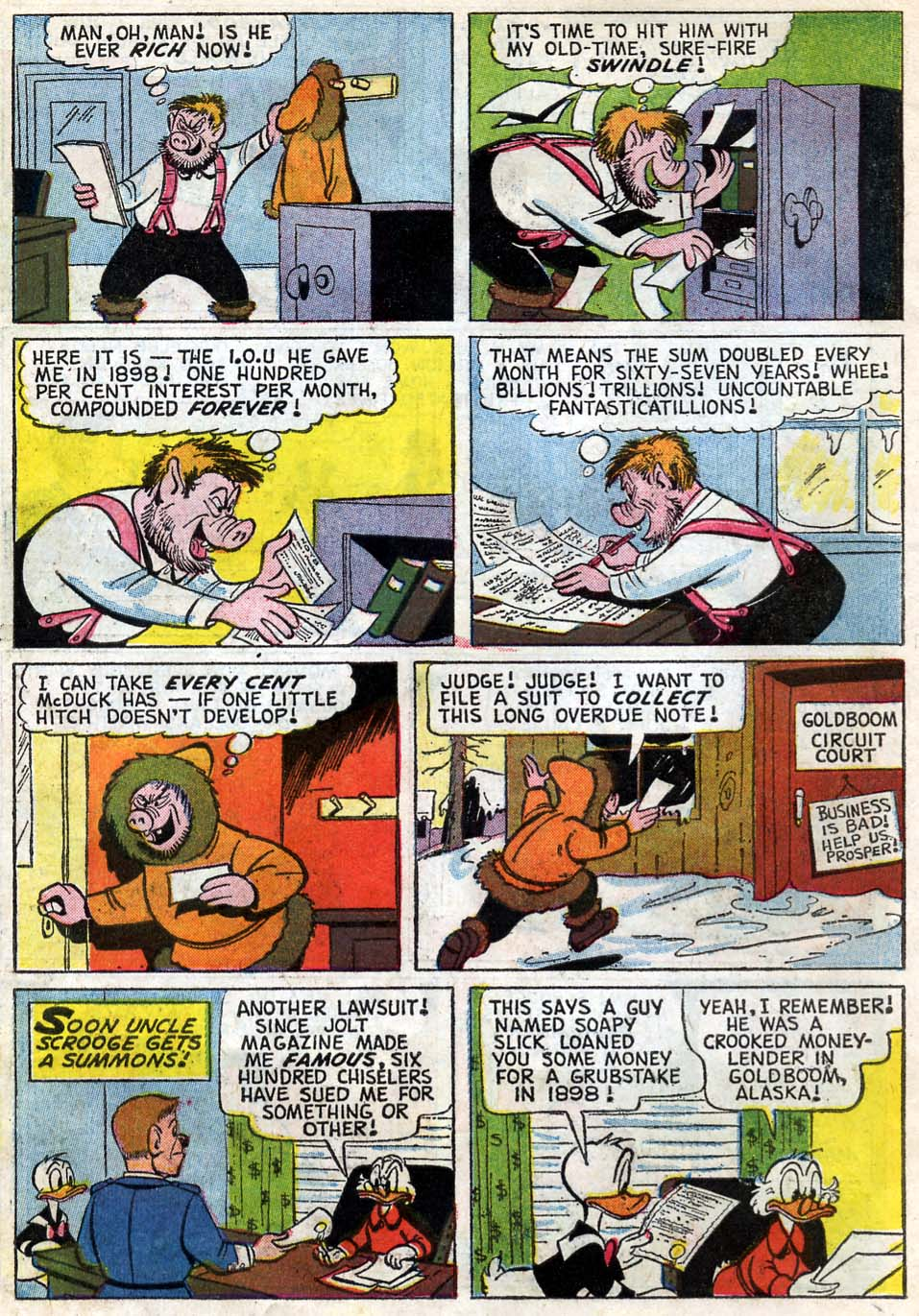 Read online Uncle Scrooge (1953) comic -  Issue #59 - 6