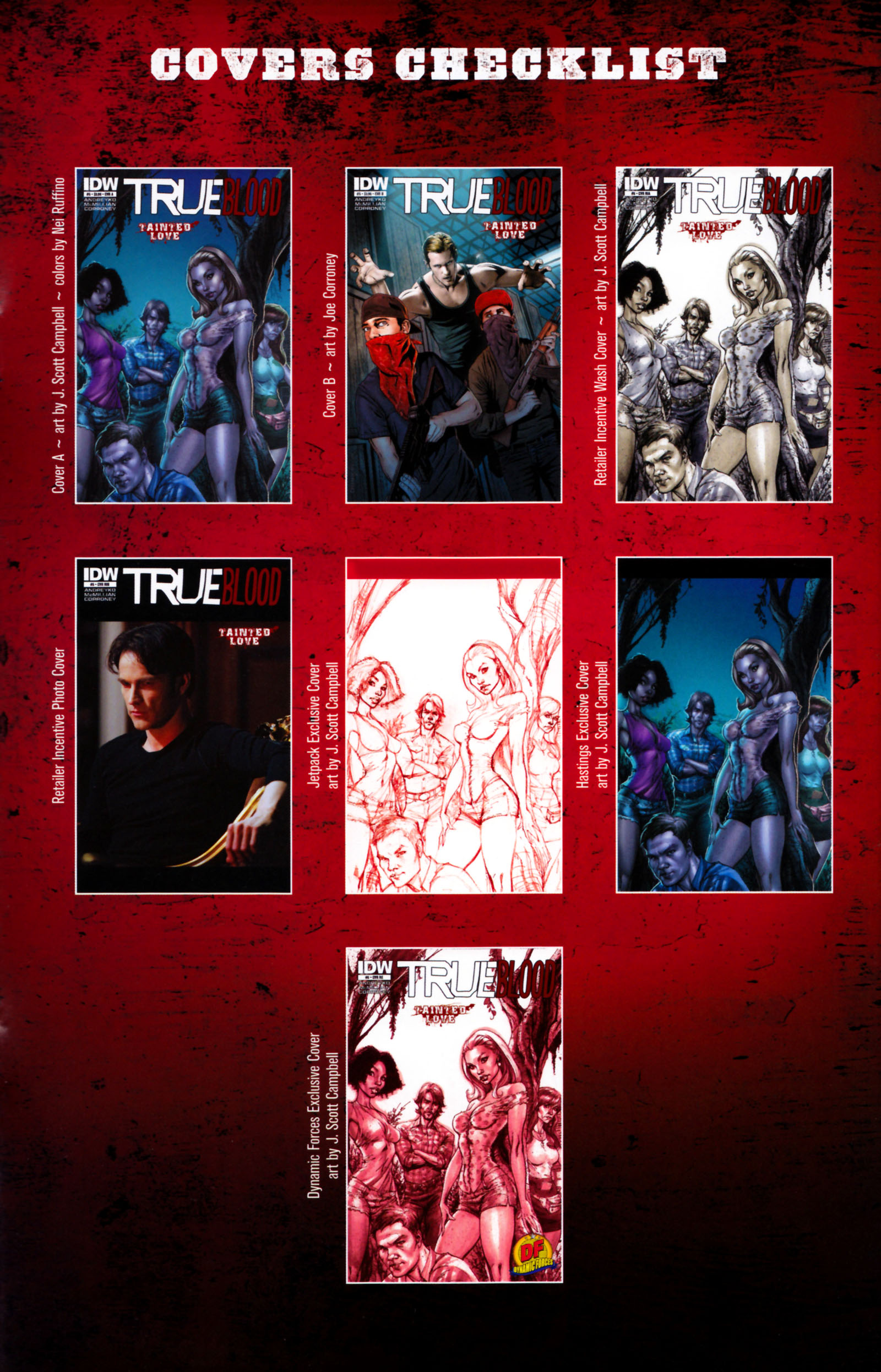 Read online True Blood: Tainted Love comic -  Issue #5 - 28
