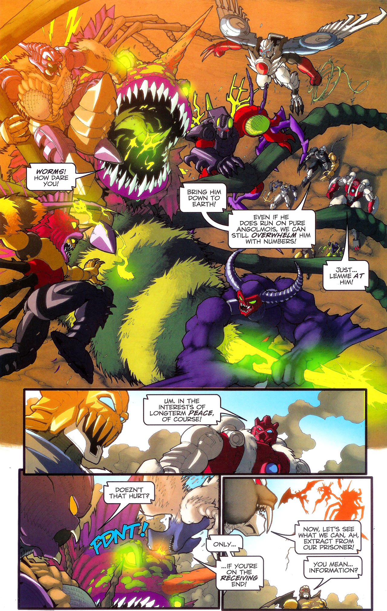 Read online Transformers: Beast Wars: The Ascending comic -  Issue #3 - 15
