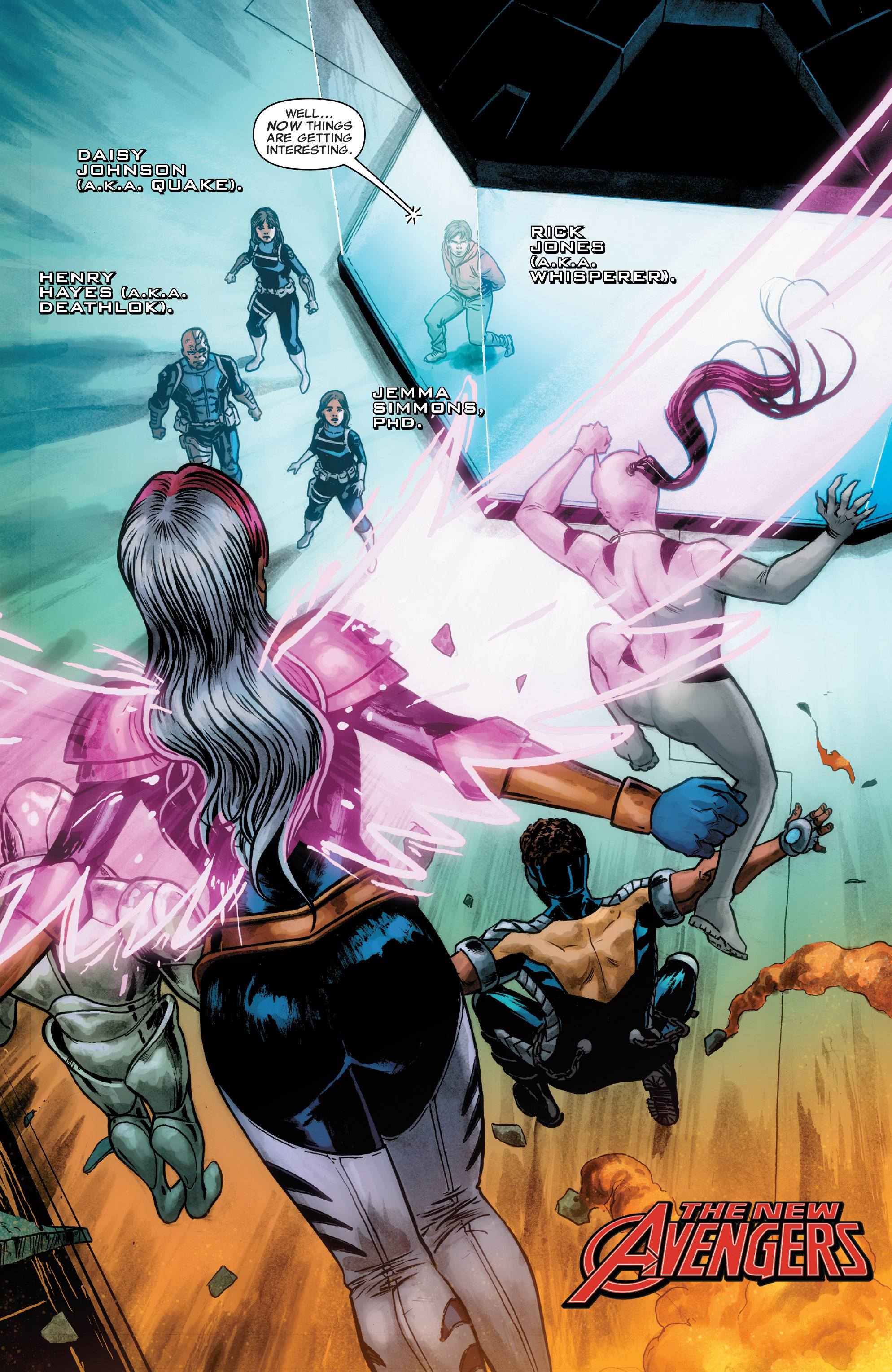 Read online Agents of S.H.I.E.L.D. comic -  Issue #4 - 2