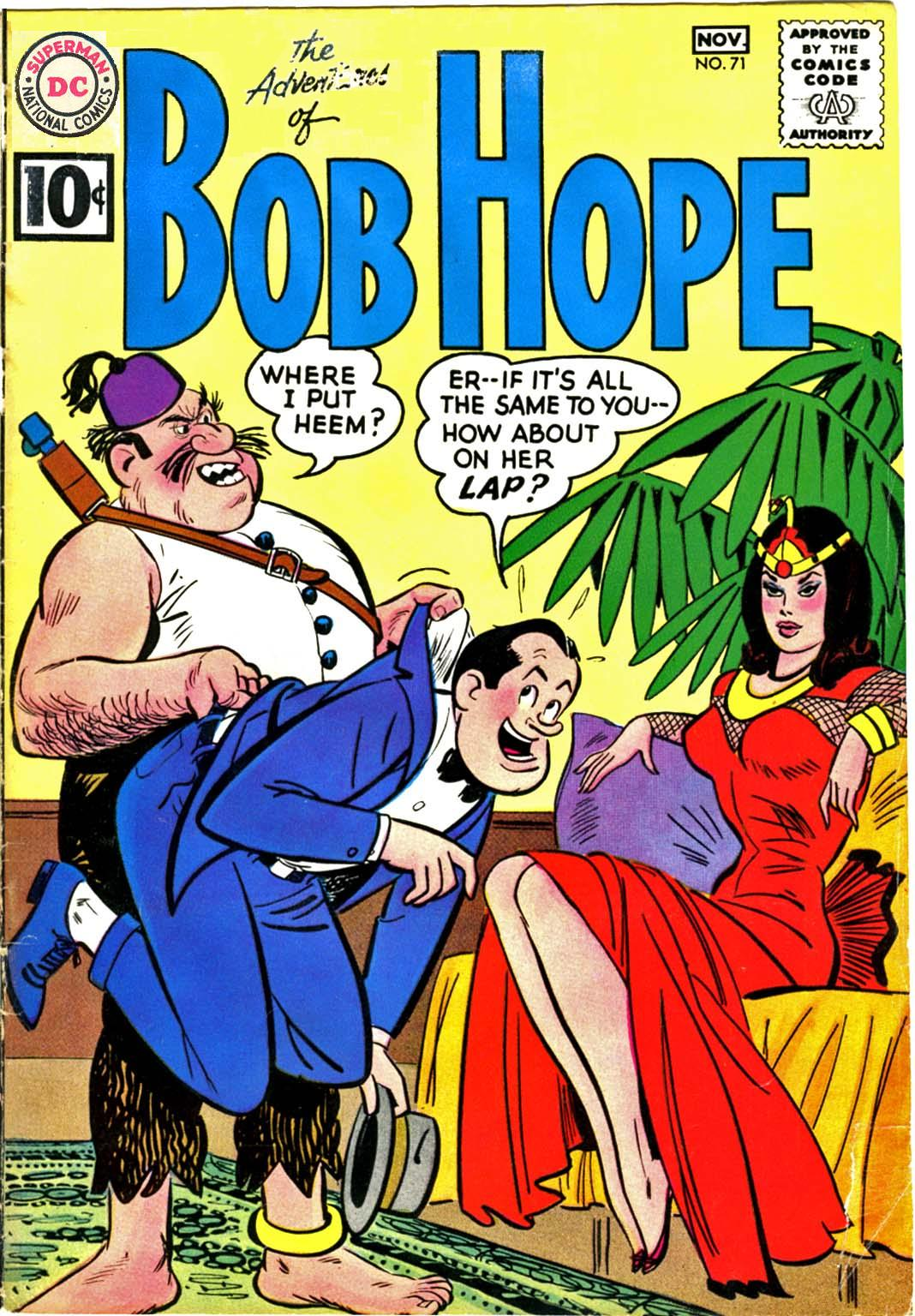 The Adventures of Bob Hope issue 71 - Page 1