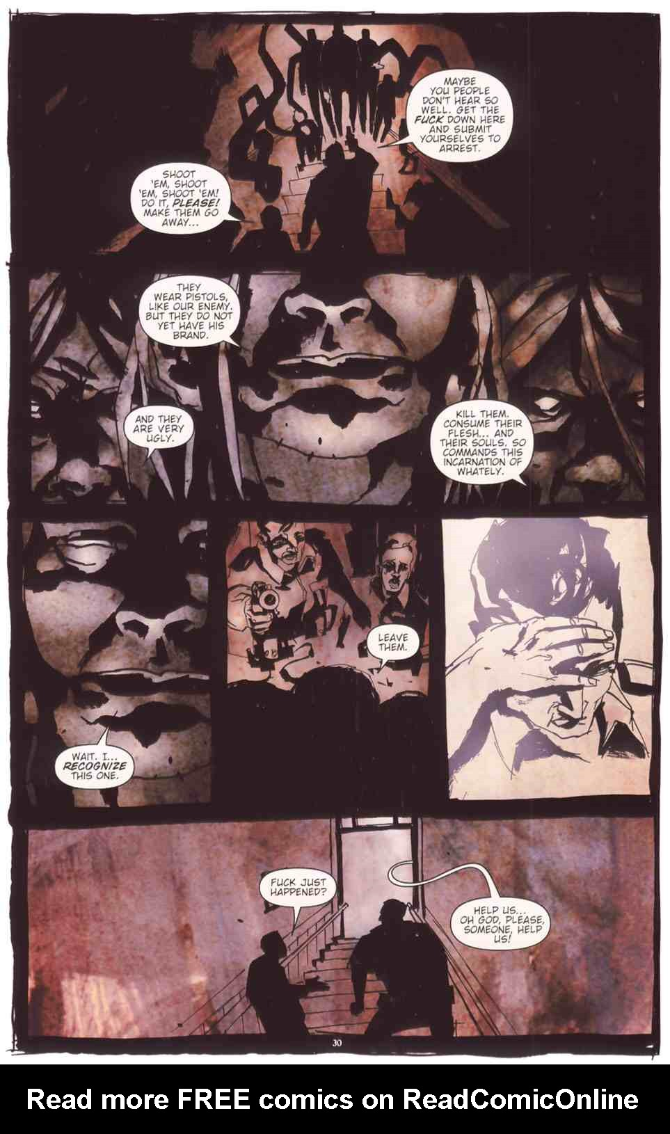 Read online Silent Hill: The Grinning Man comic -  Issue # Full - 32