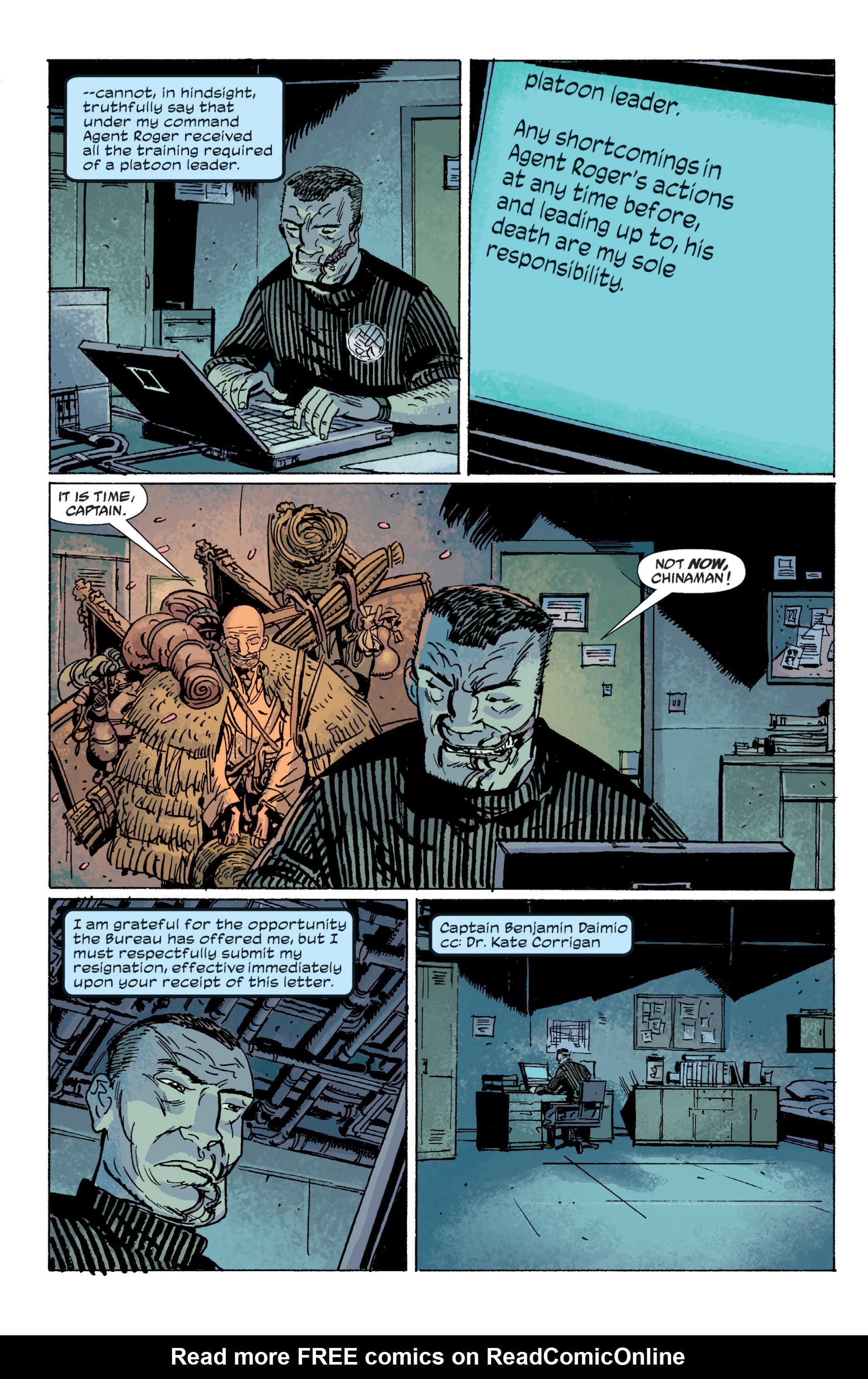 Read online B.P.R.D. (2003) comic -  Issue # TPB 5 - 93