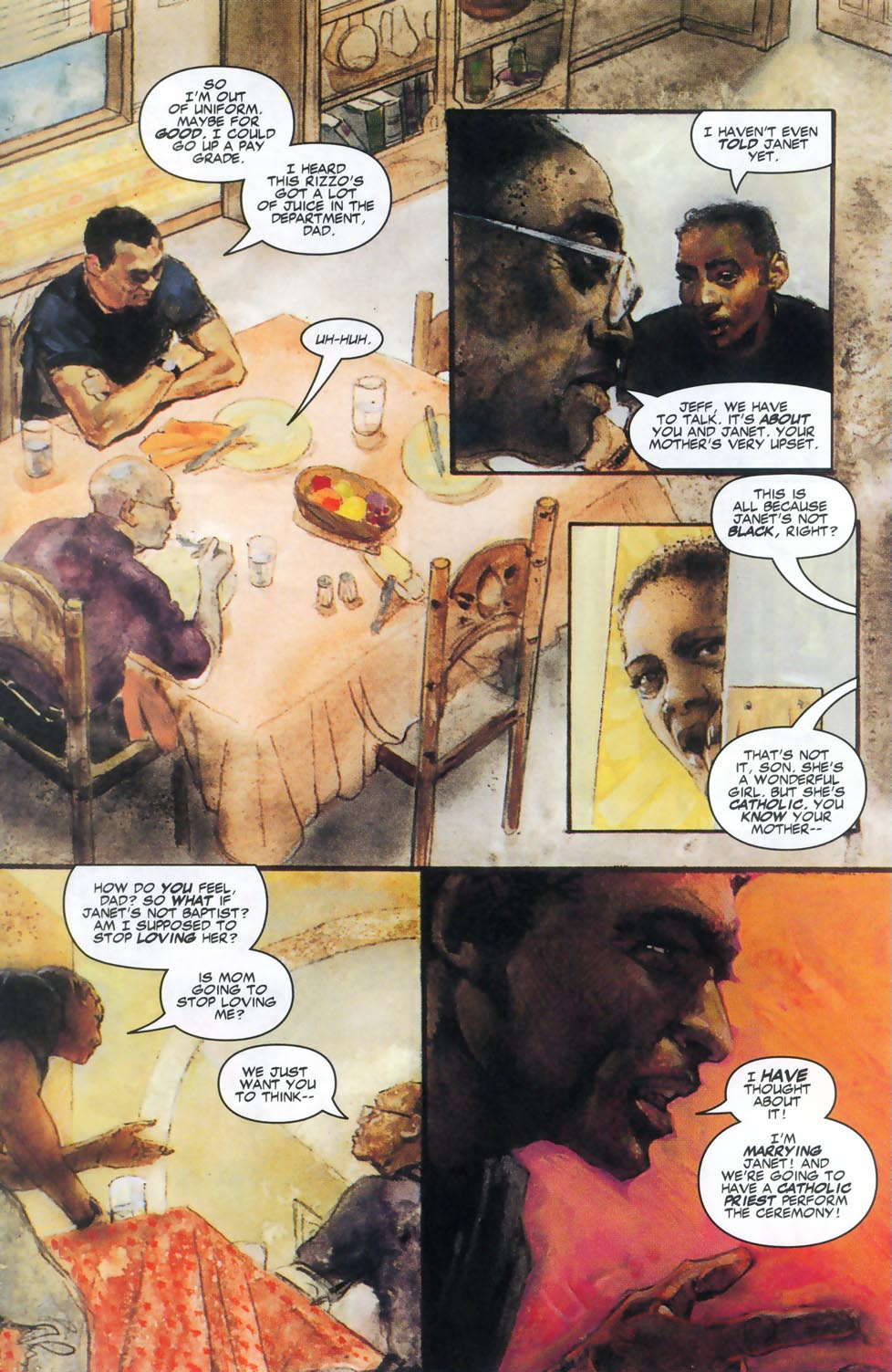 Read online Code of Honor comic -  Issue #2 - 16