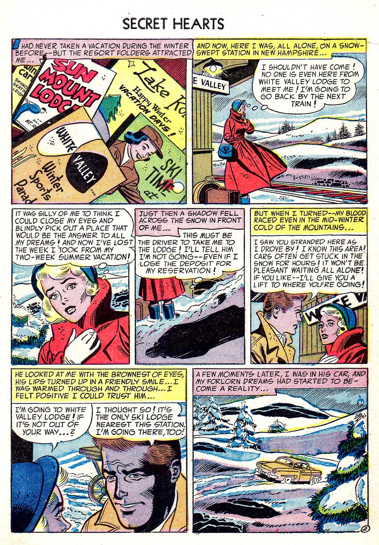 Read online Secret Hearts comic -  Issue #20 - 27