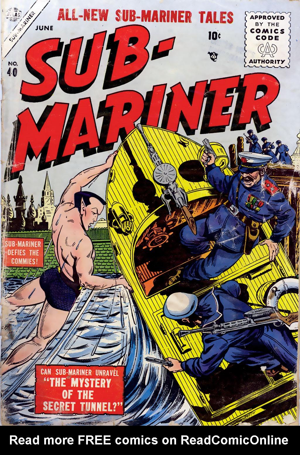 Sub-Mariner Comics issue 40 - Page 1