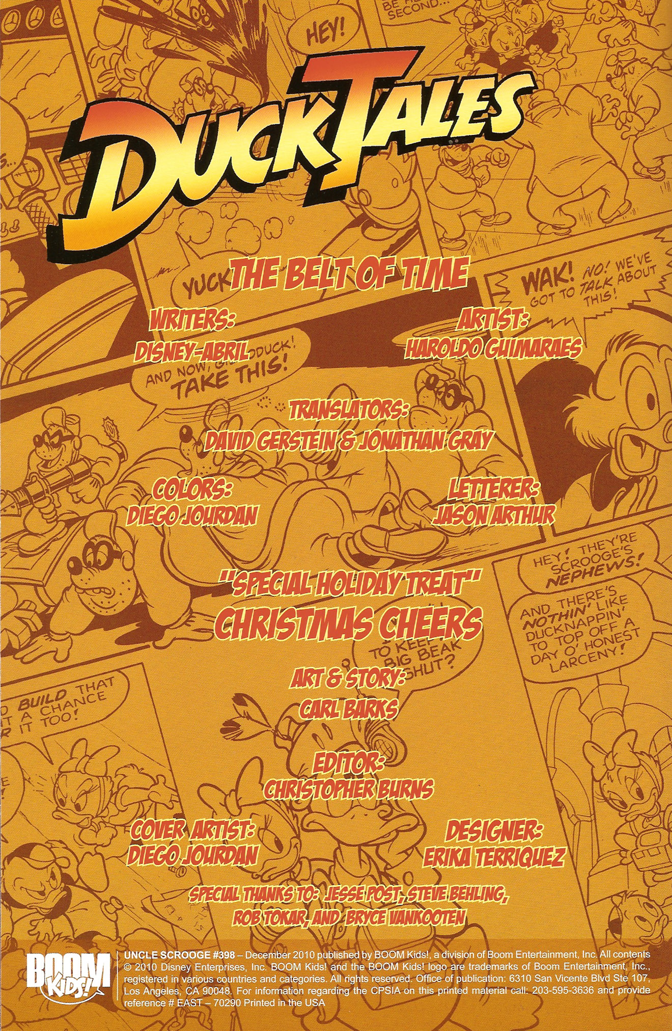 Read online Uncle Scrooge (1953) comic -  Issue #398 - 2