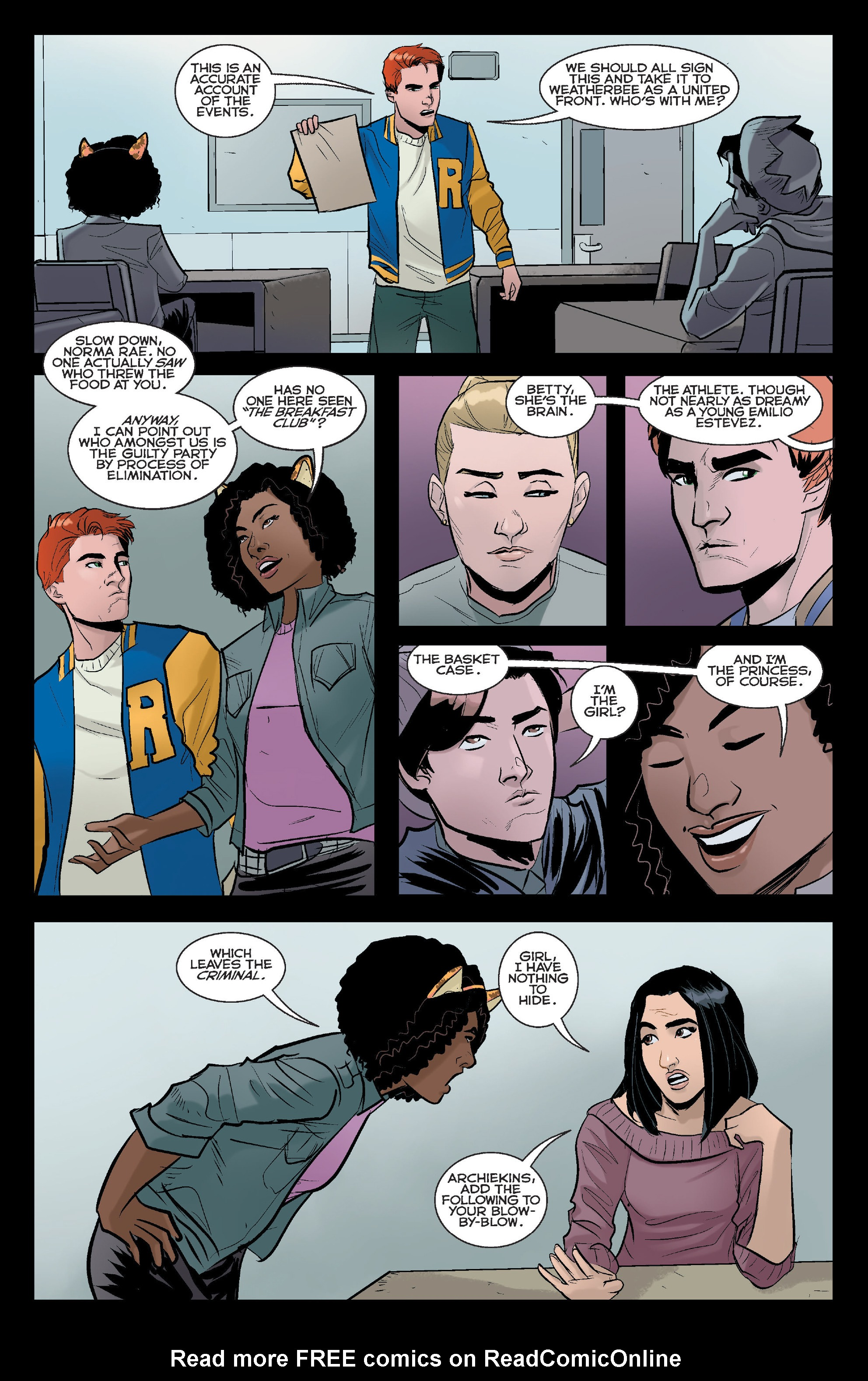 Read online Riverdale comic -  Issue #2 - 10
