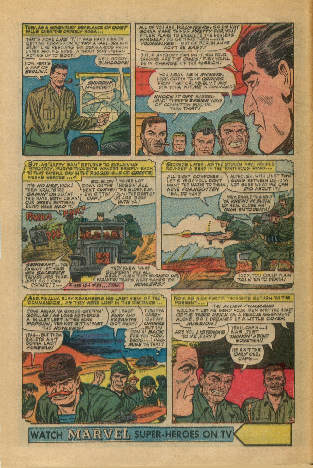 Read online Sgt. Fury comic -  Issue #35 - 4