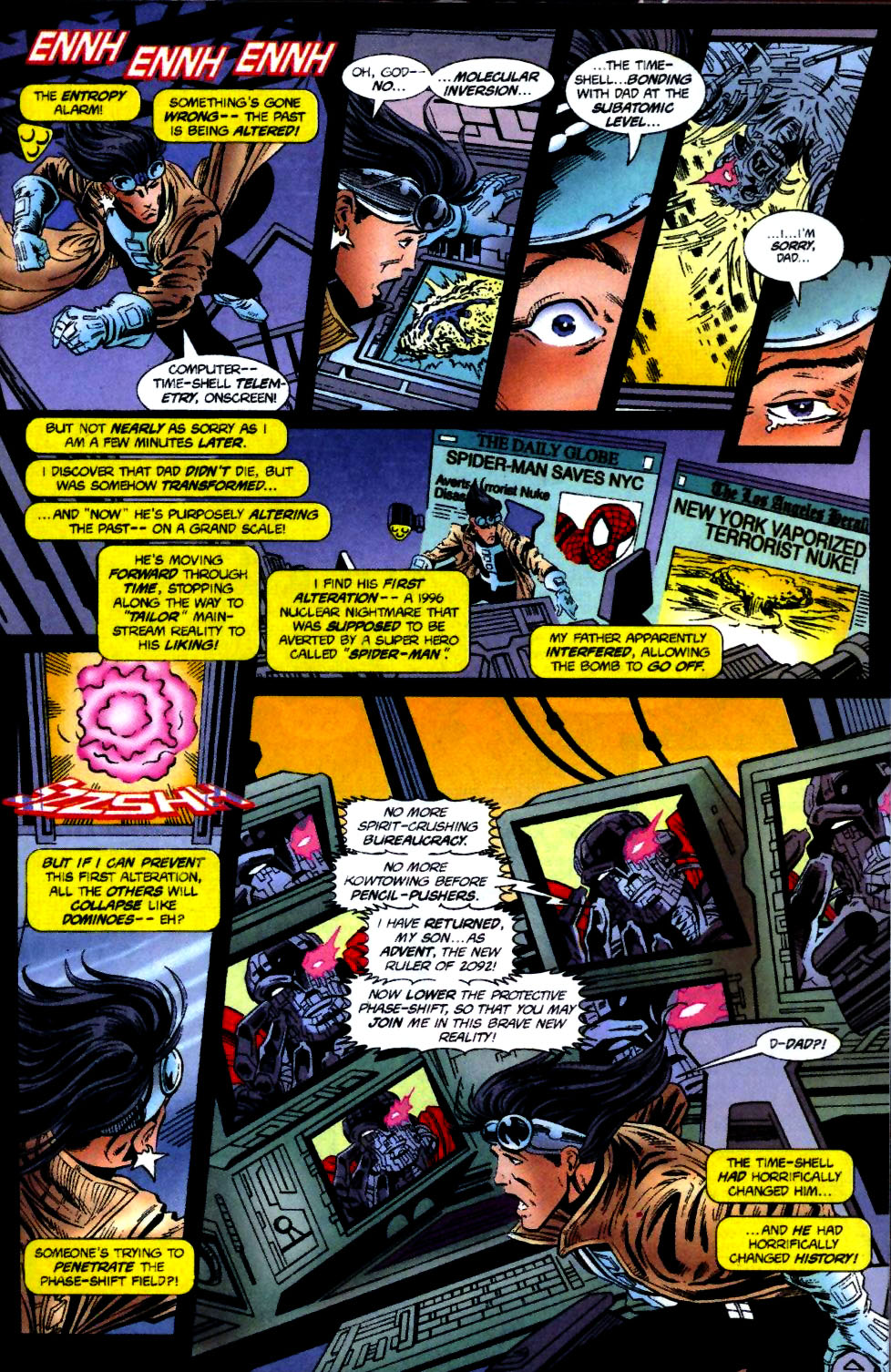 The New Warriors Issue #70 #74 - English 12