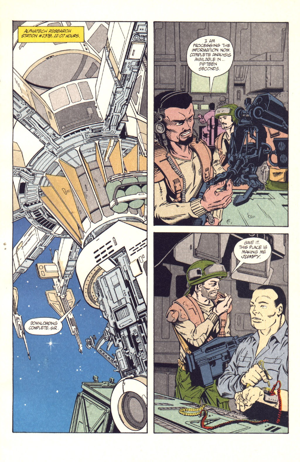 Read online Aliens: Colonial Marines comic -  Issue #9 - 3