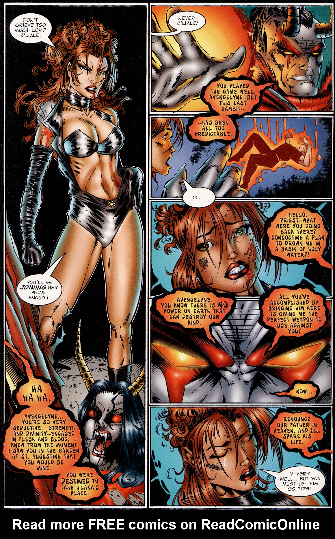 Read online Avengelyne (1995) comic -  Issue #3 - 18