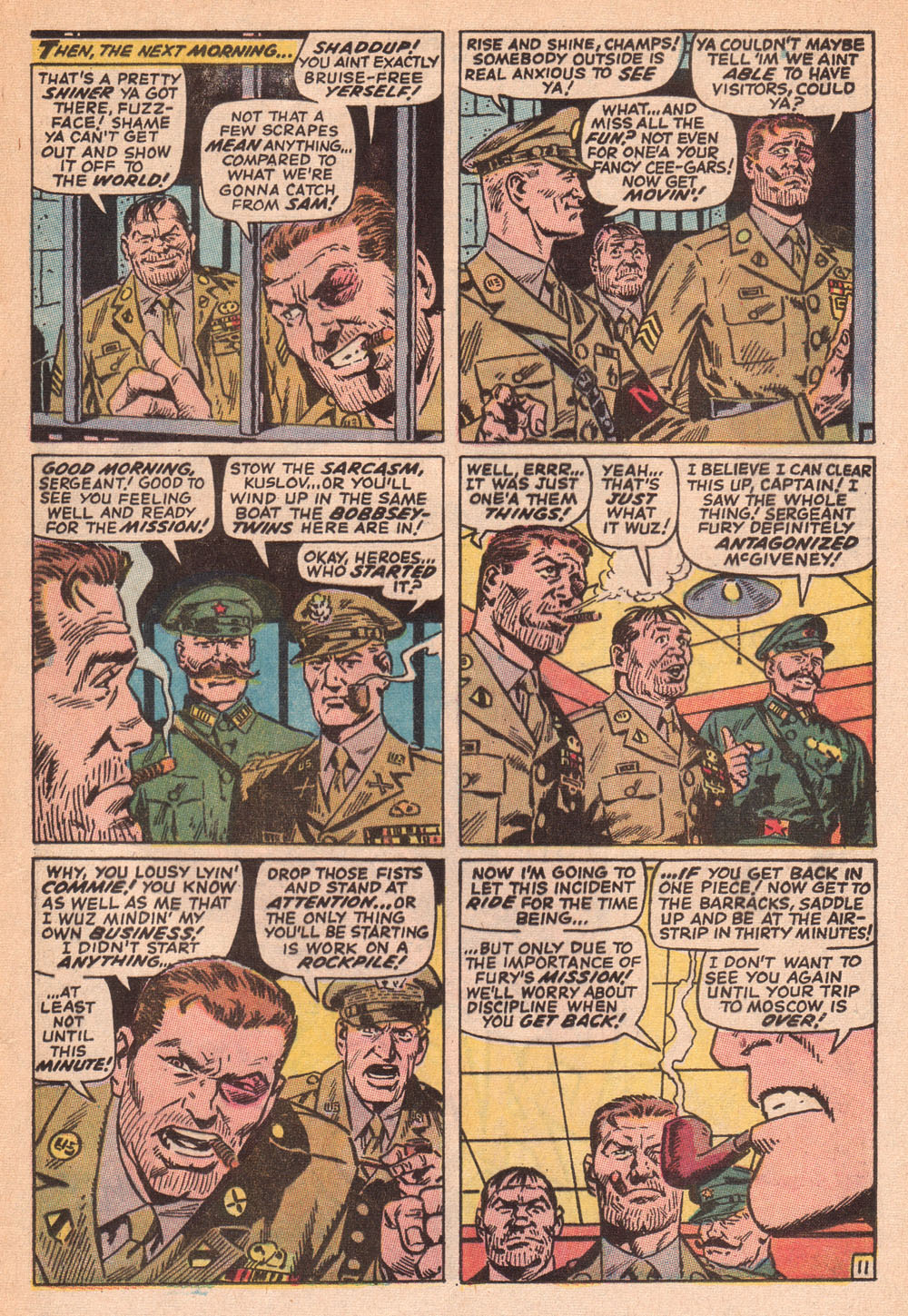 Read online Sgt. Fury comic -  Issue #73 - 17