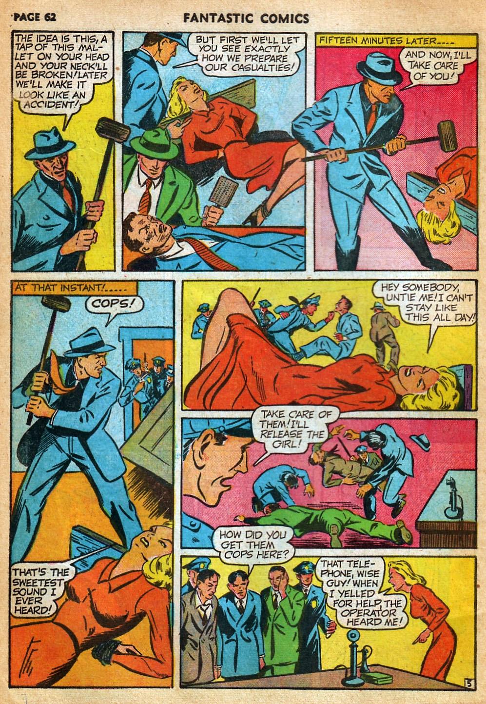 Read online Fantastic Comics comic -  Issue #22 - 63