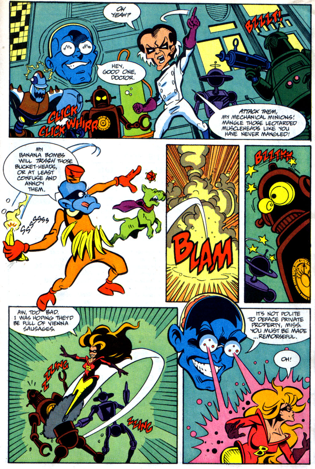 Read online Defenders of Dynatron City comic -  Issue #1 - 9