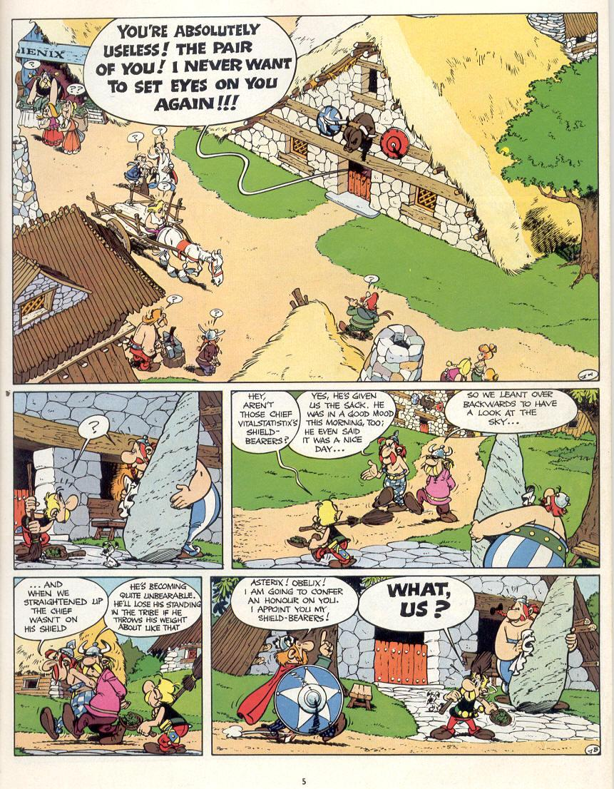 Read online Asterix comic -  Issue #16 - 2
