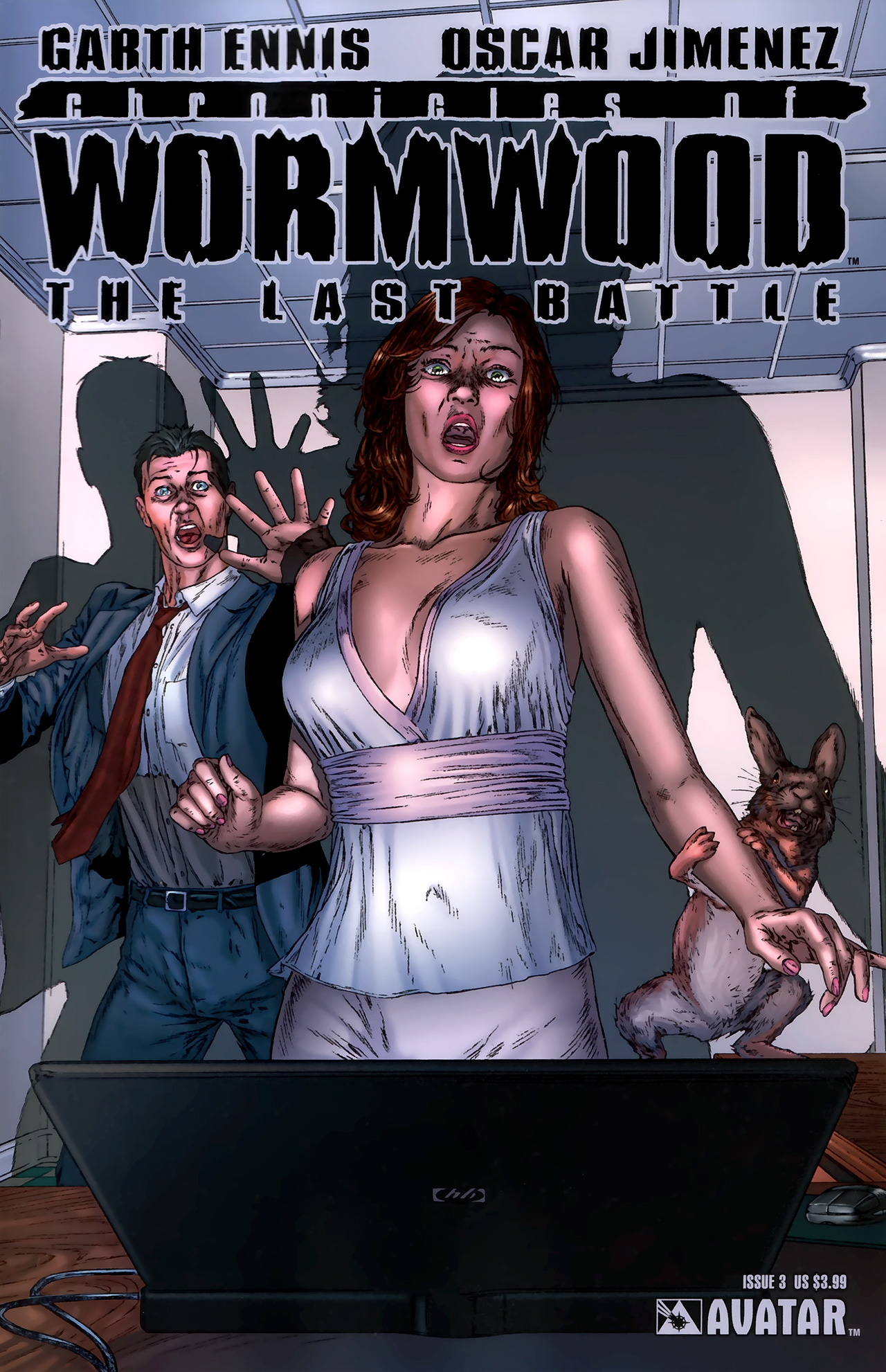 Read online Chronicles of Wormwood: The Last Battle comic -  Issue #3 - 1