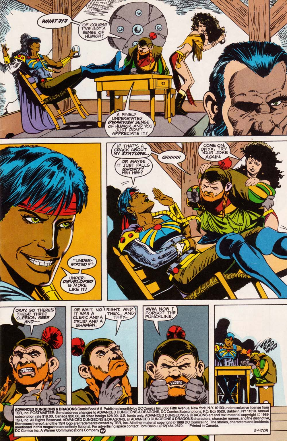 Read online Advanced Dungeons & Dragons comic -  Issue #5 - 2