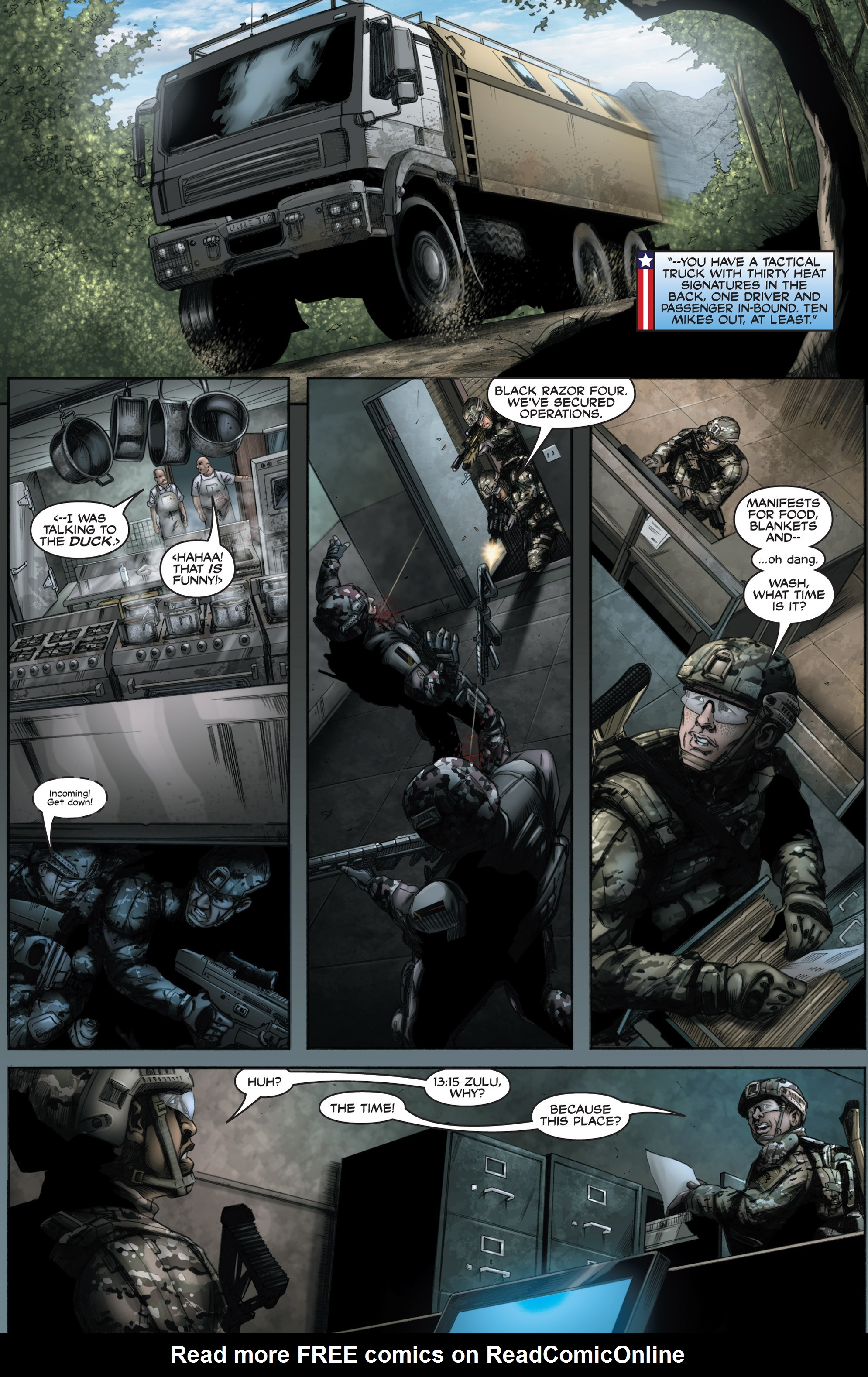 Read online America's Army comic -  Issue #8 - 19
