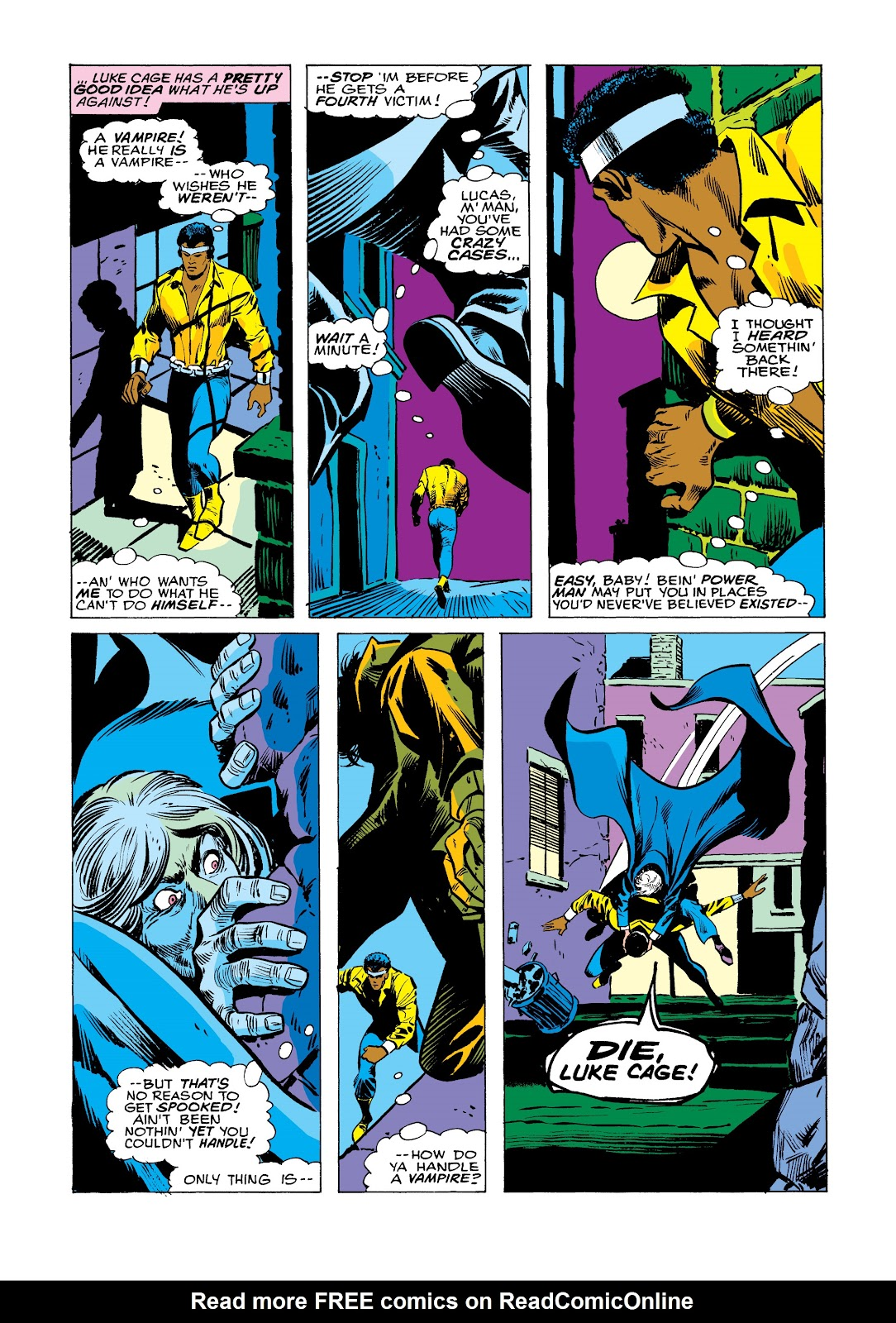 Read online Marvel Masterworks: Luke Cage, Power Man comic -  Issue # TPB 2 (Part 2) - 90