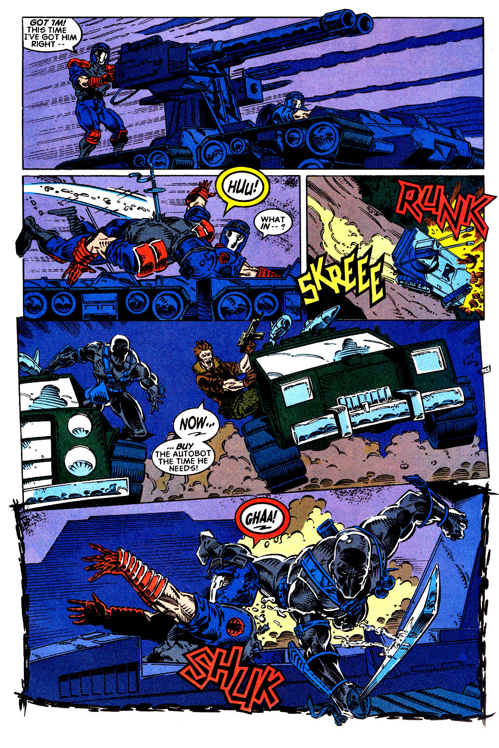 Read online Transformers: Generation 2 comic -  Issue #2 - 12