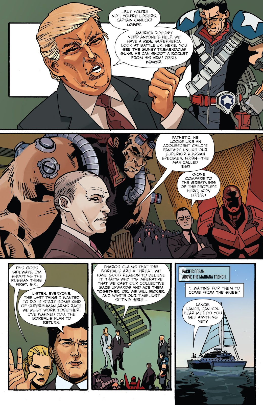 Captain Canuck: Invasion (Canada Day 2018) issue Full - Page 6