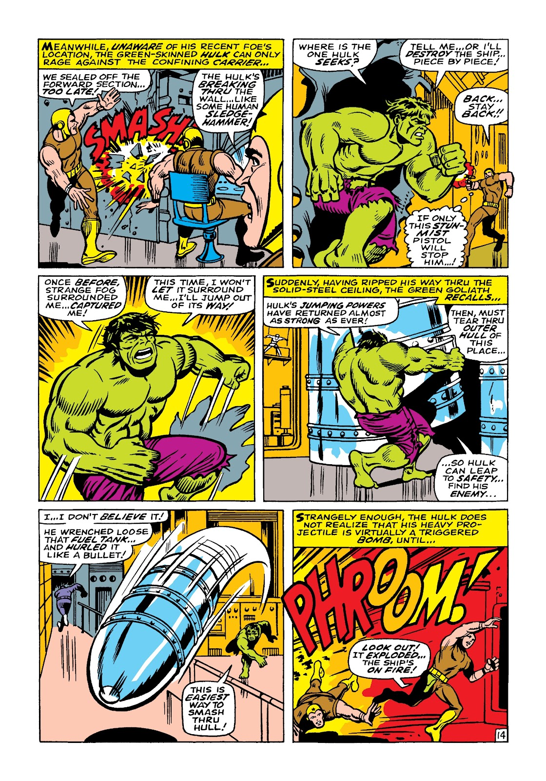 Read online Marvel Masterworks: The Incredible Hulk comic -  Issue # TPB 4 (Part 1) - 84