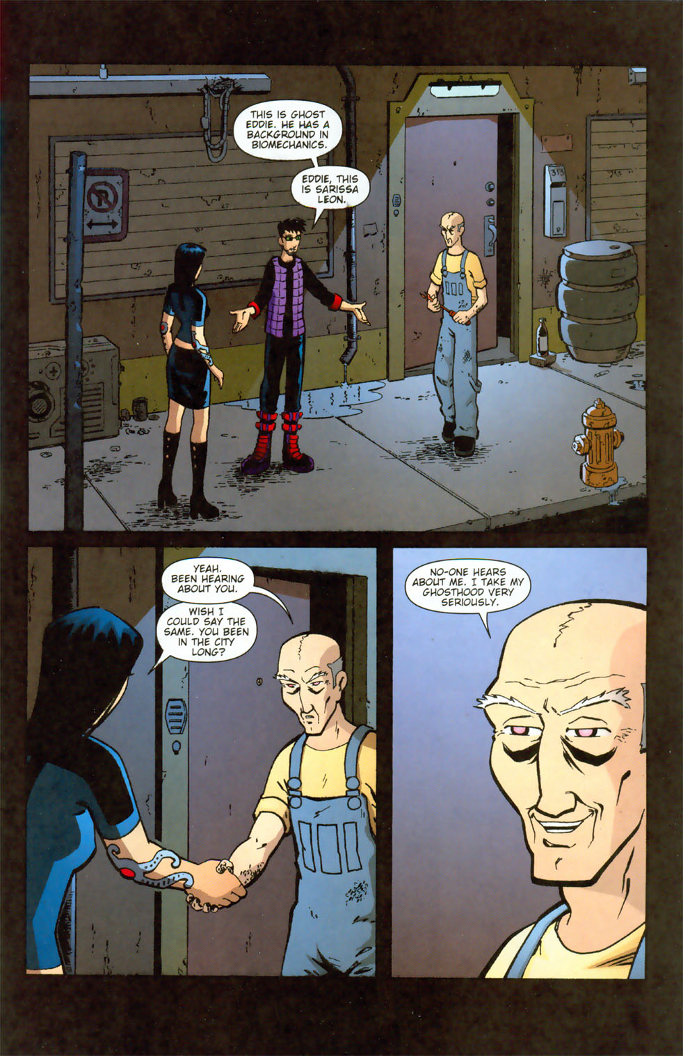Read online Mek comic -  Issue #3 - 4