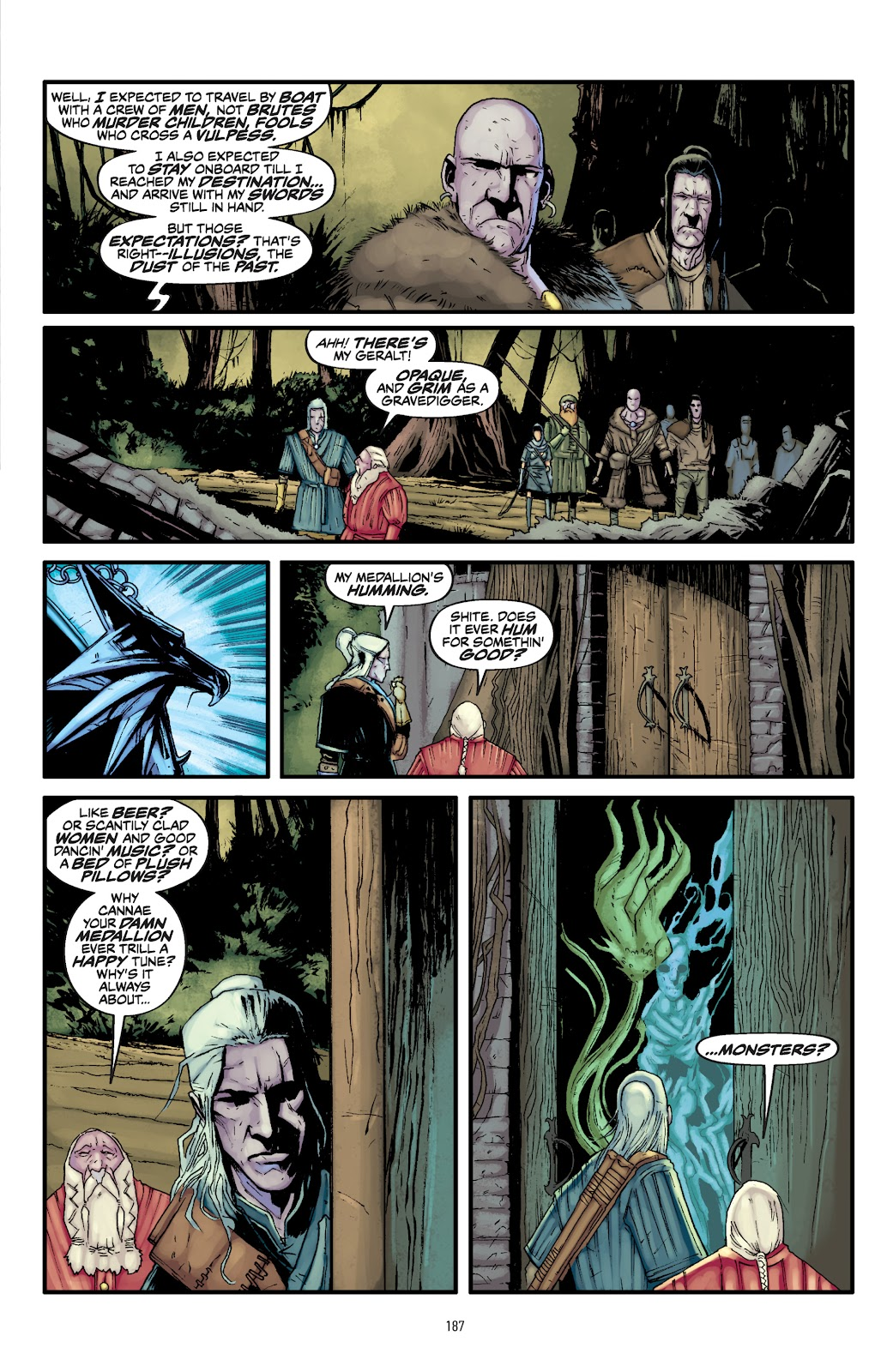 Read online The Witcher Omnibus comic -  Issue # TPB (Part 2) - 87