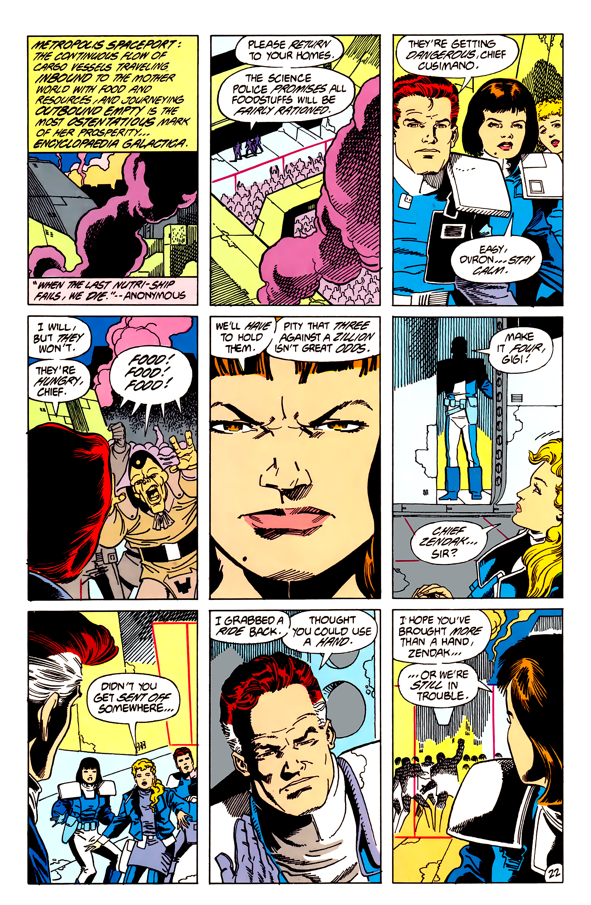 Legion of Super-Heroes (1984) 62 Page 22