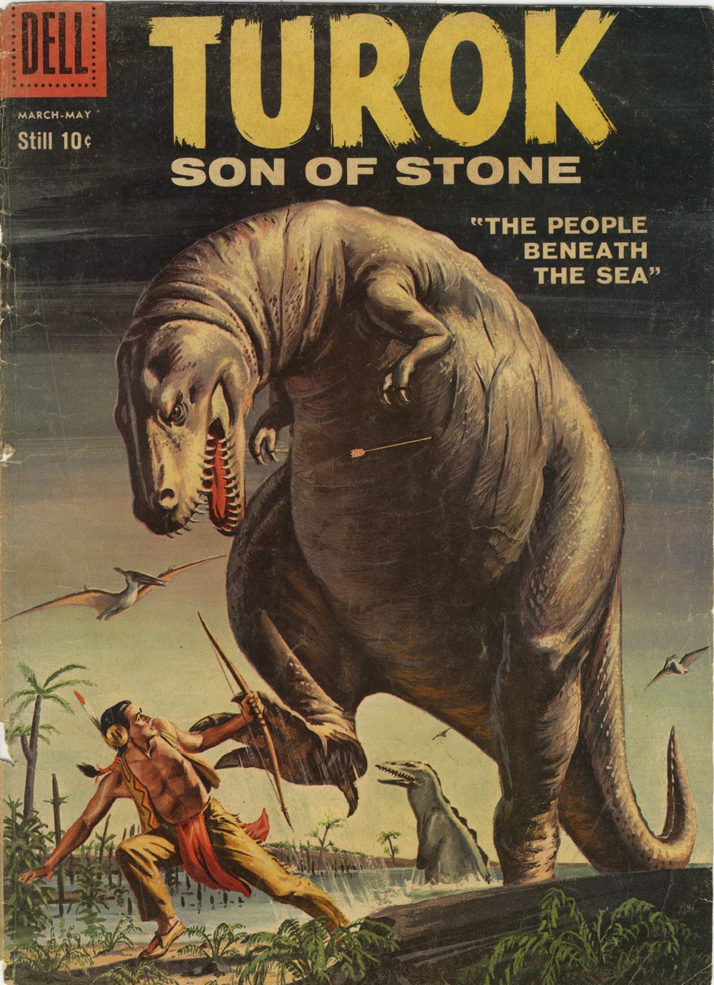 Read online Turok, Son of Stone comic -  Issue #15 - 1