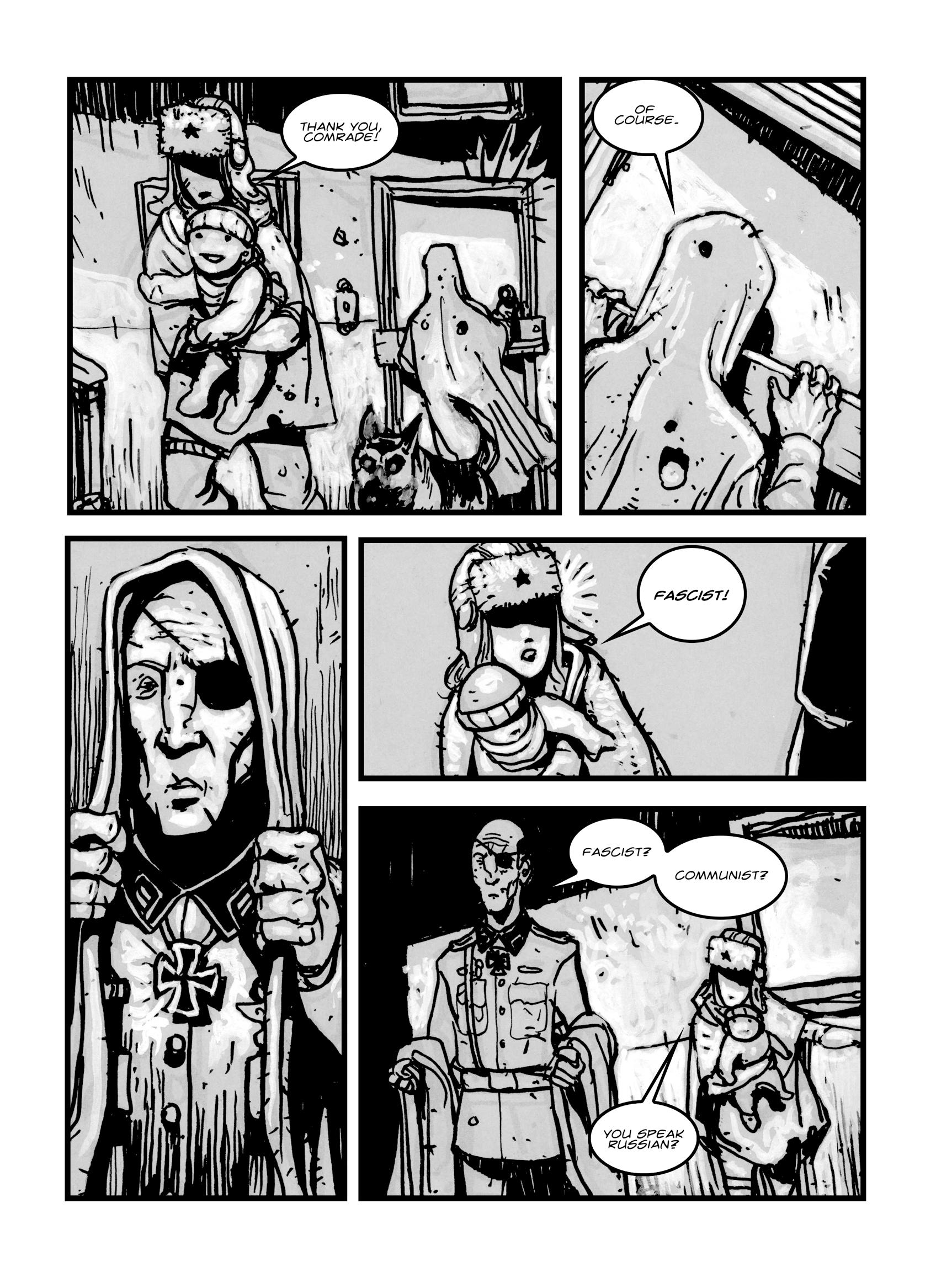 Read online FUBAR comic -  Issue #1 - 91